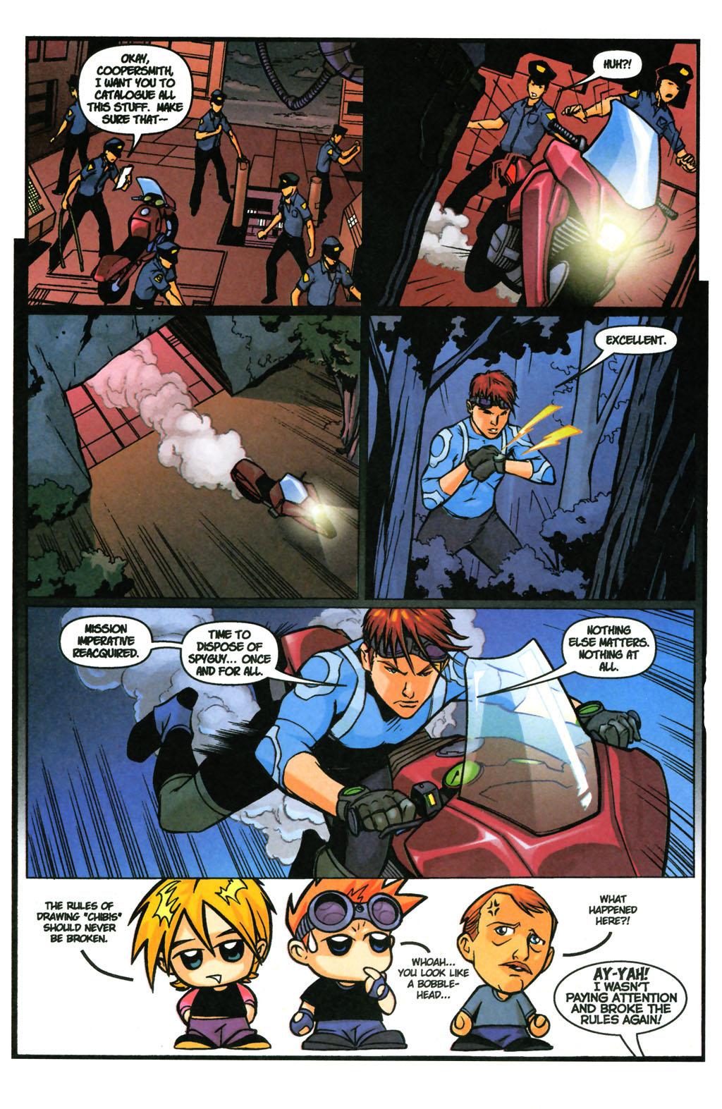 Read online SpyBoy: Final Exam comic -  Issue #3 - 24