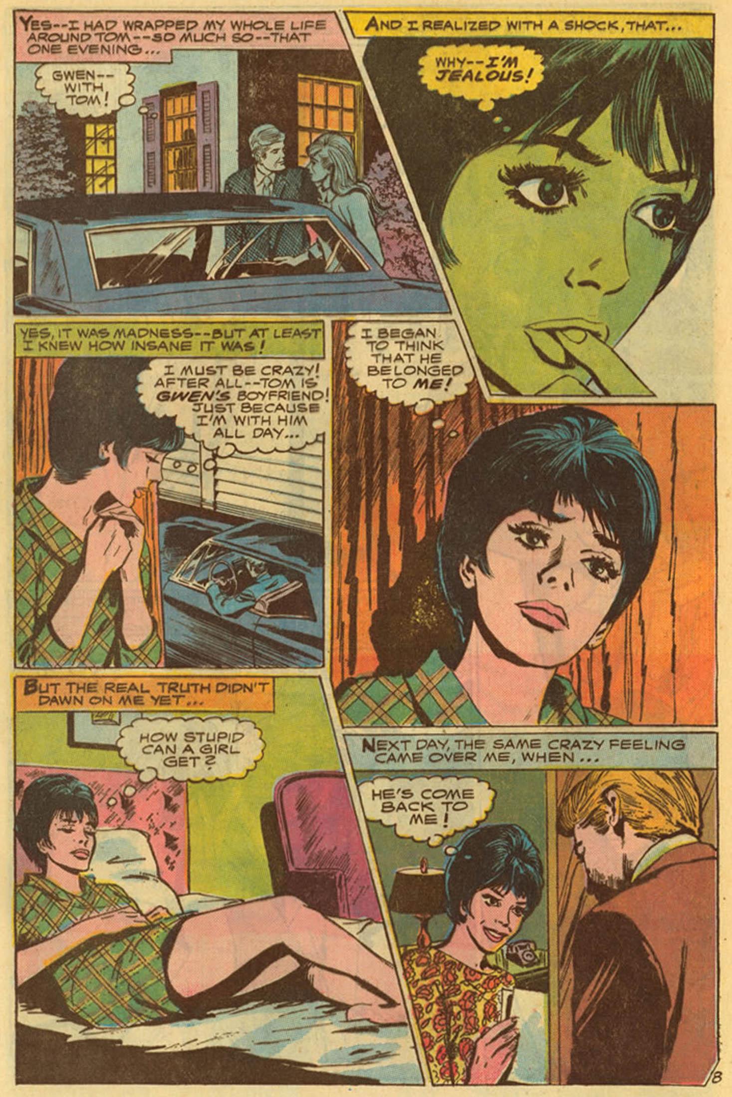Read online Secret Hearts comic -  Issue #139 - 28
