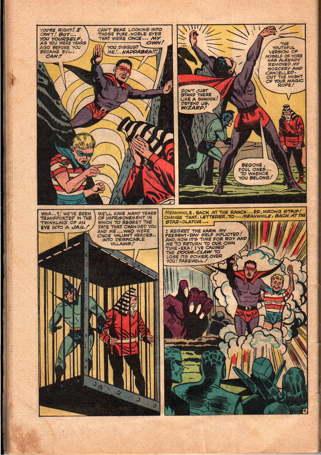 The Mighty Crusaders (1965) Issue #4 #4 - English 24