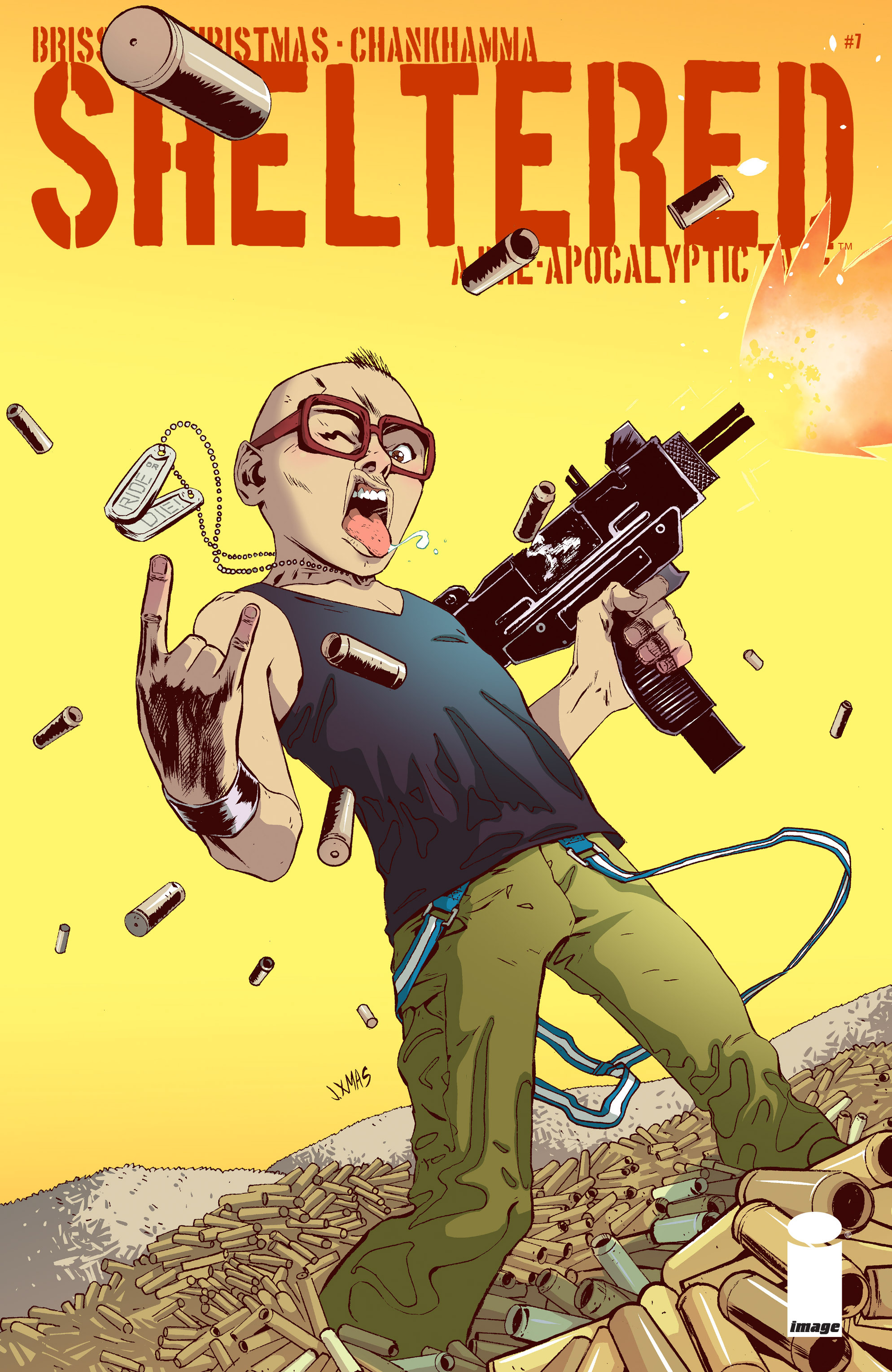 Read online Sheltered comic -  Issue #7 - 1