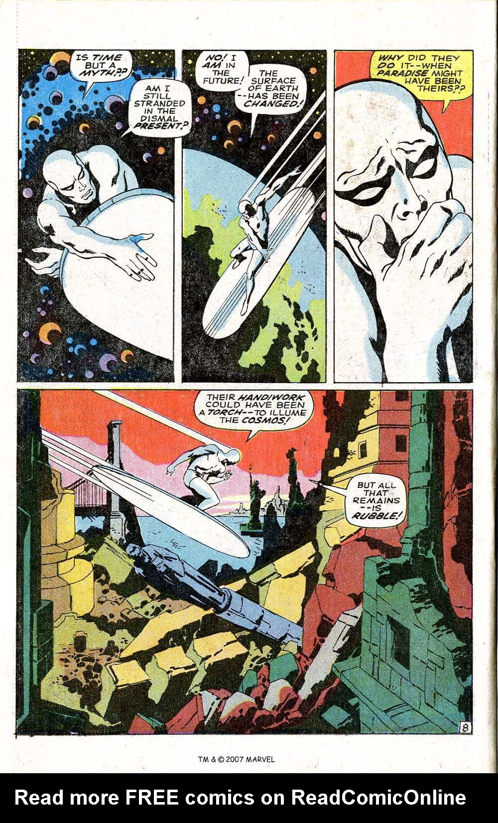 Read online Silver Surfer (1968) comic -  Issue #6 - 10