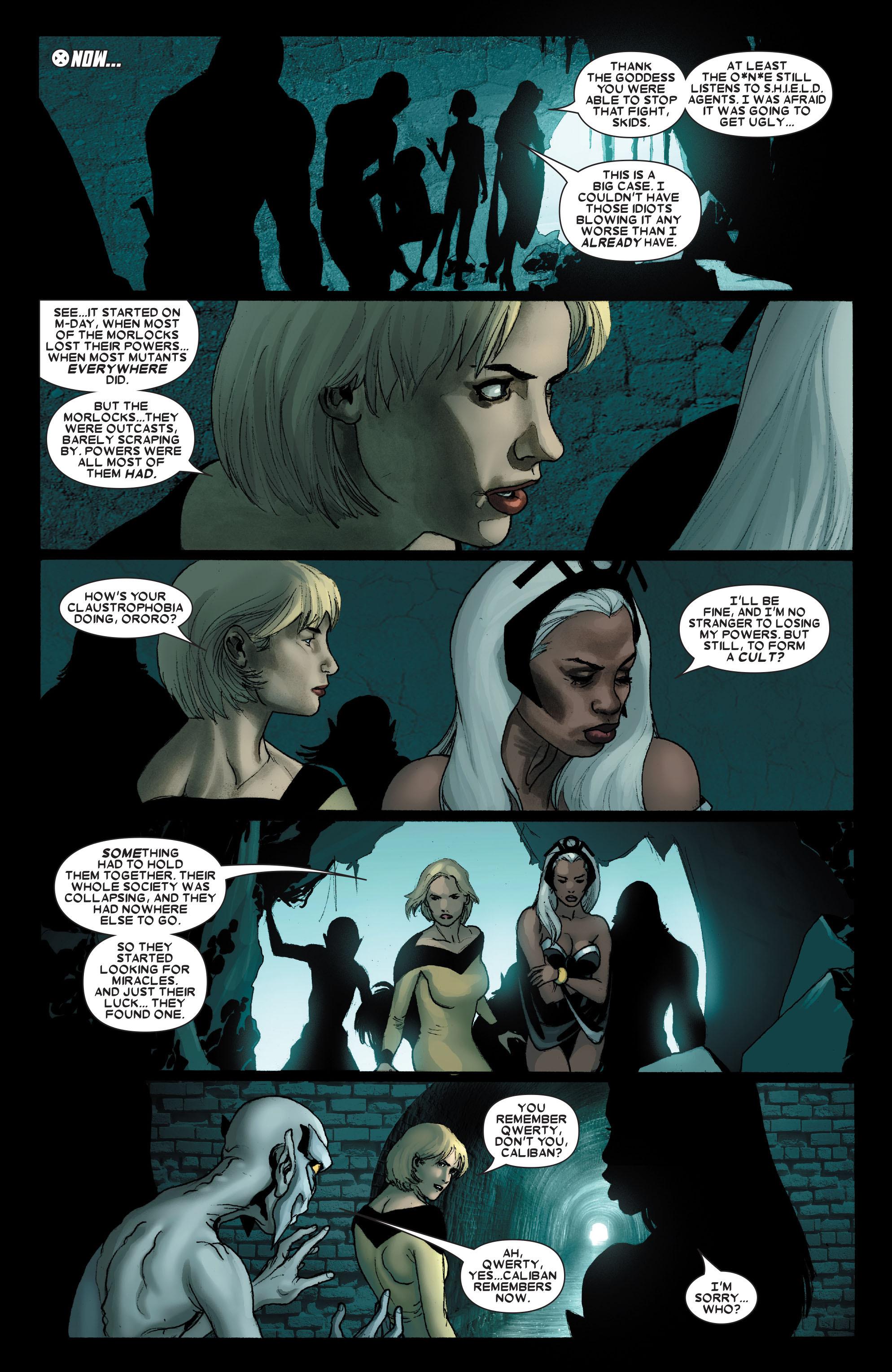 Read online Uncanny X-Men (1963) comic -  Issue #490 - 3