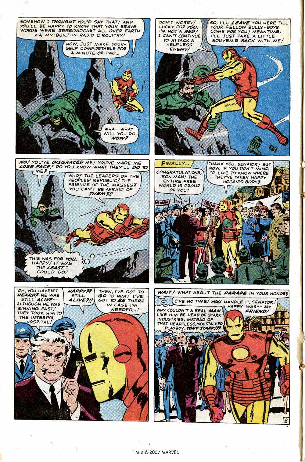 Iron Man Annual issue 1 - Page 12
