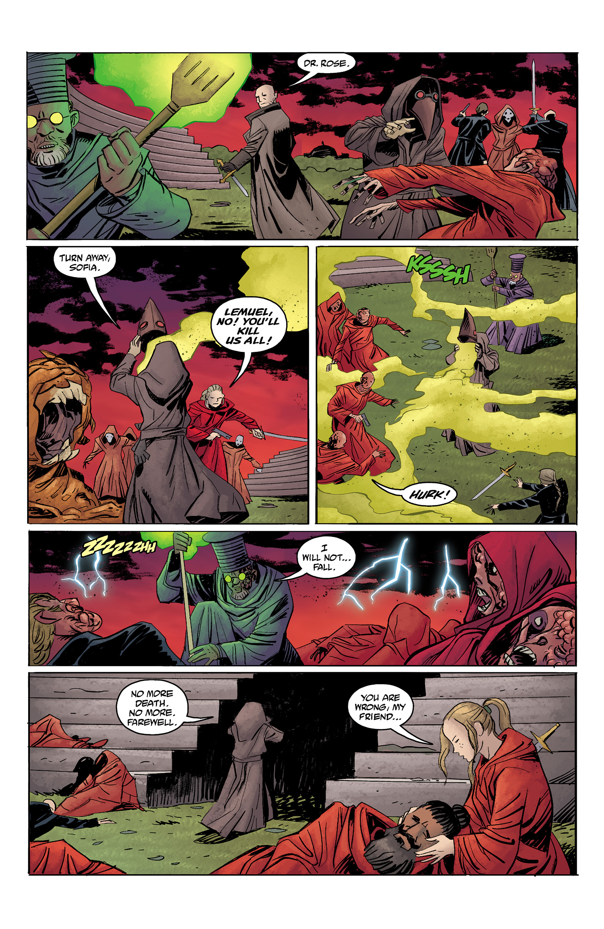 Read online Baltimore: The Red Kingdom comic -  Issue #5 - 18