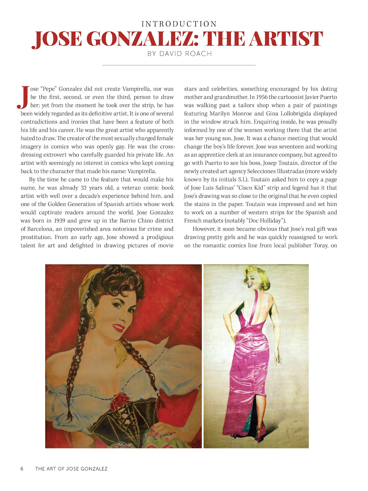Read online The Art of Jose Gonzalez comic -  Issue # TPB (Part 1) - 7