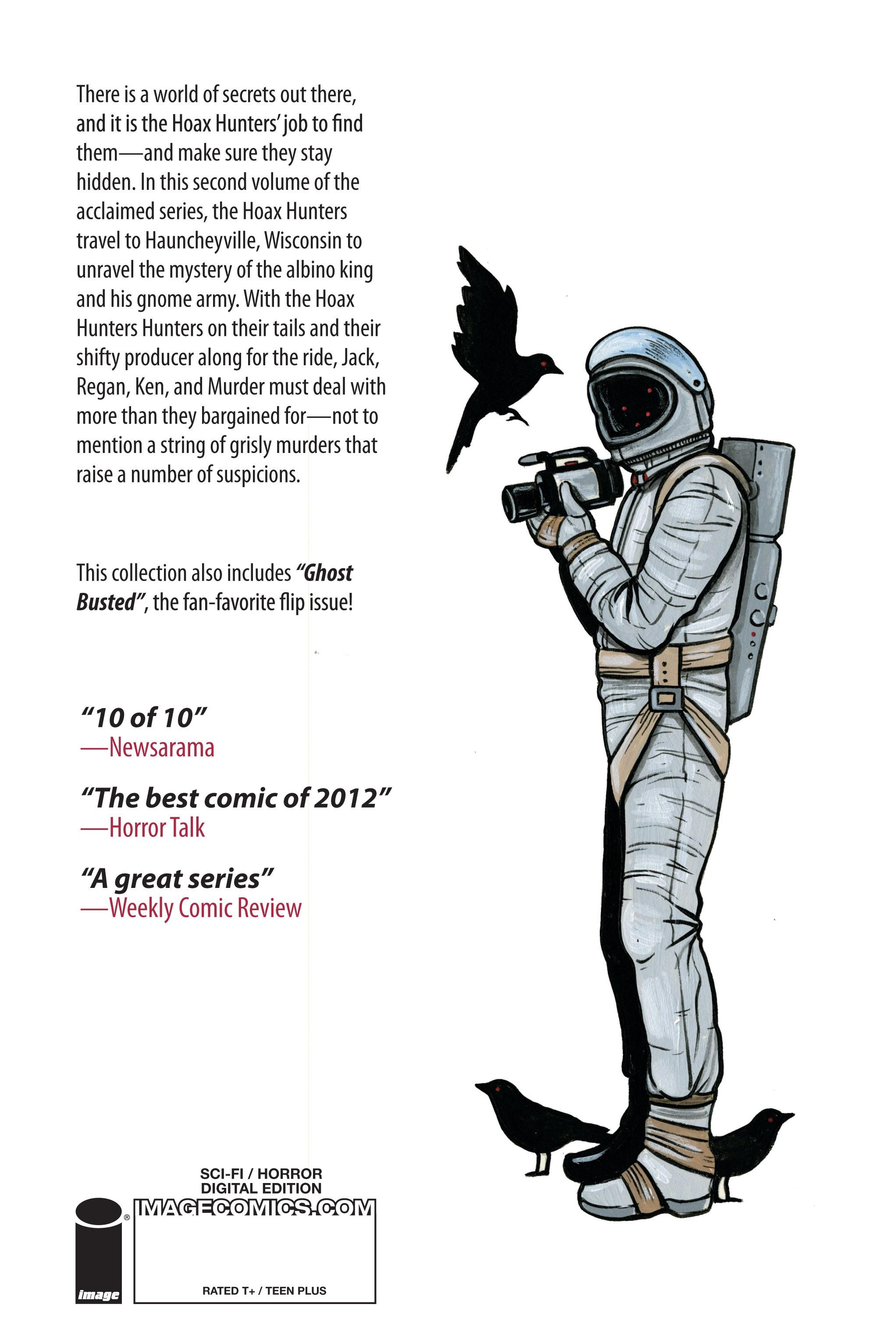 Read online Hoax Hunters (2012) comic -  Issue # TPB 2 - 116
