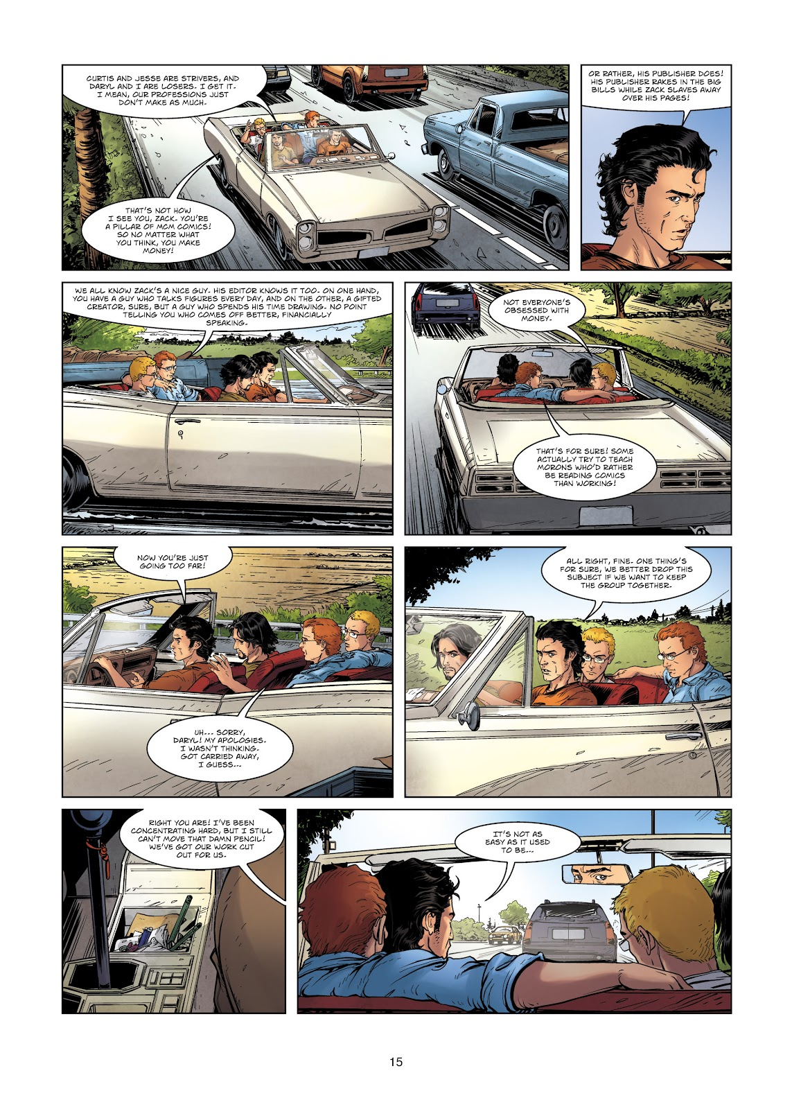 Read online Vigilantes comic -  Issue #2 - 15