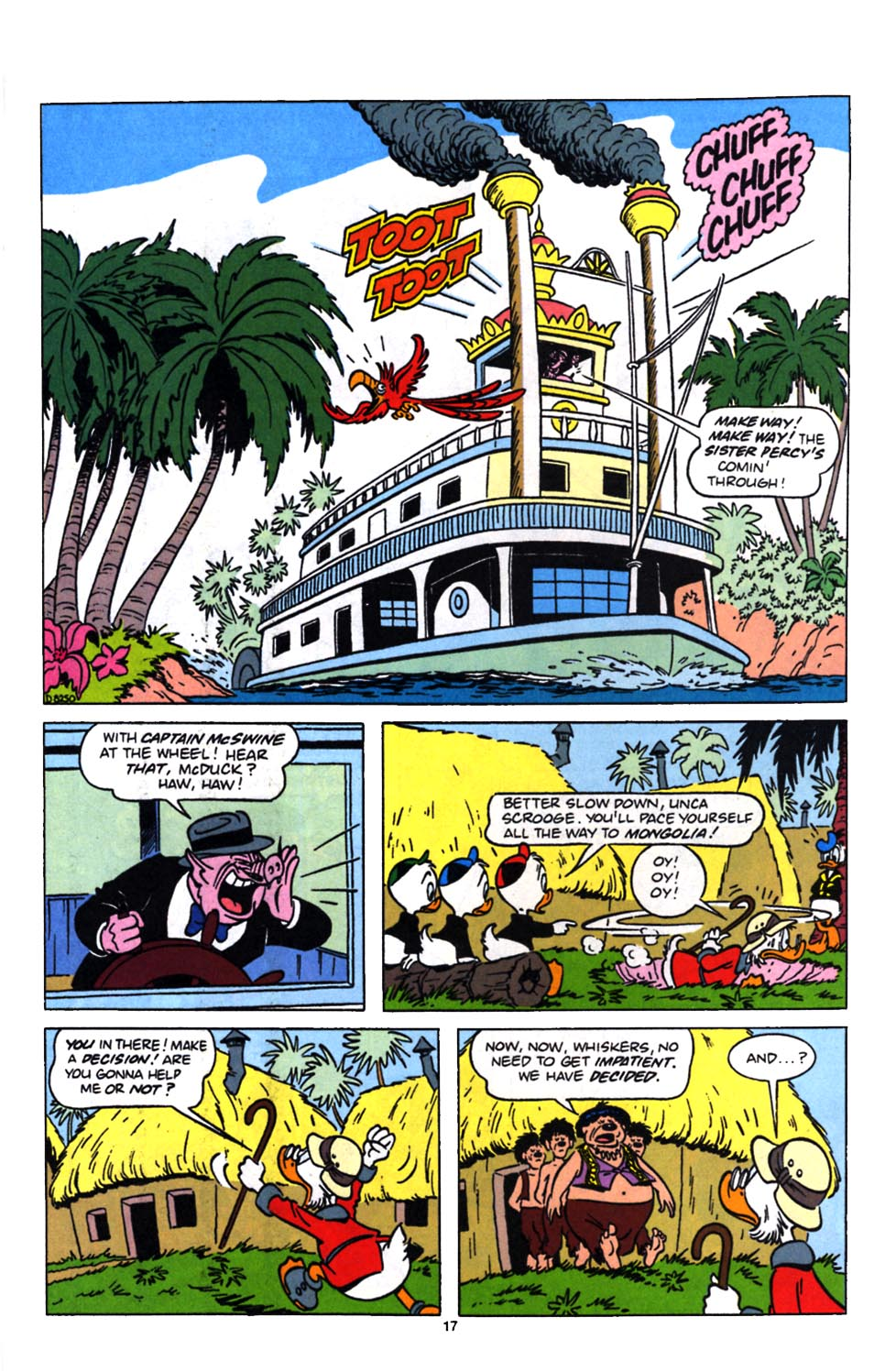 Read online Uncle Scrooge (1953) comic -  Issue #249 - 19