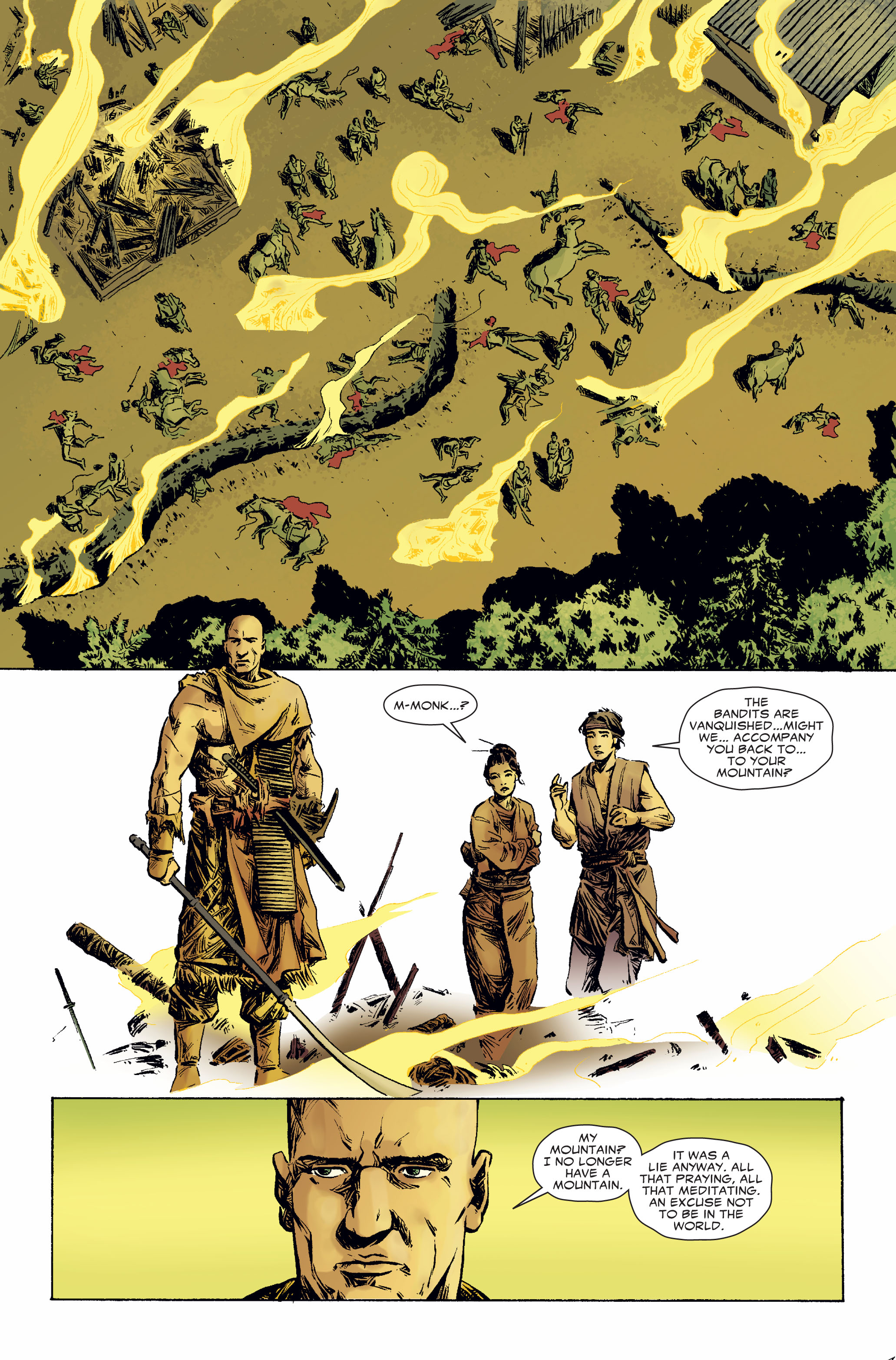 Read online 5 Ronin (2011) comic -  Issue #2 - 21