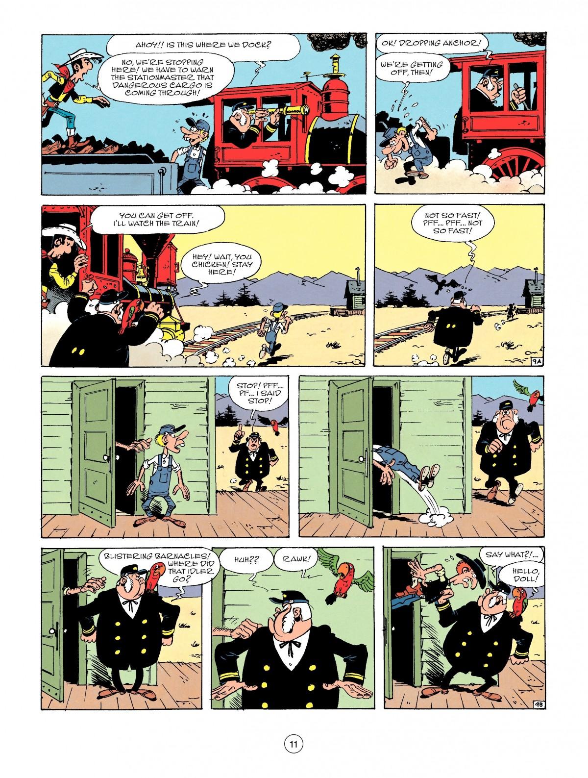 Read online A Lucky Luke Adventure comic -  Issue #53 - 11