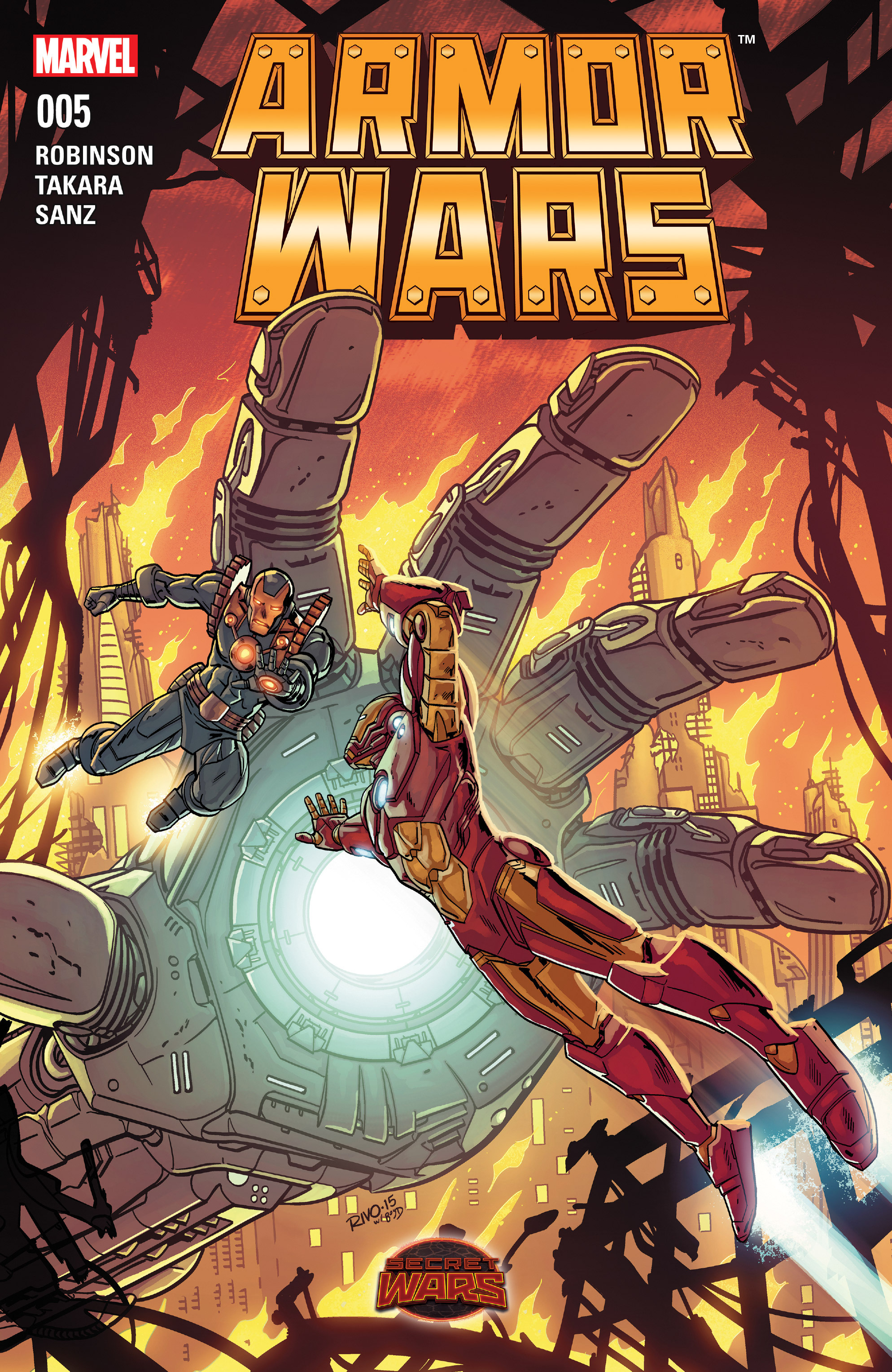 Read online Armor Wars comic -  Issue #5 - 1