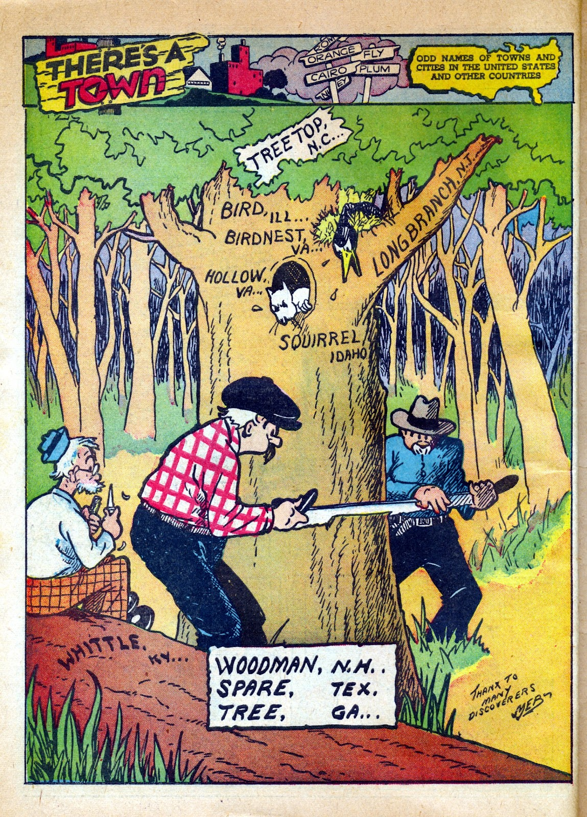 Read online Famous Funnies comic -  Issue #82 - 58