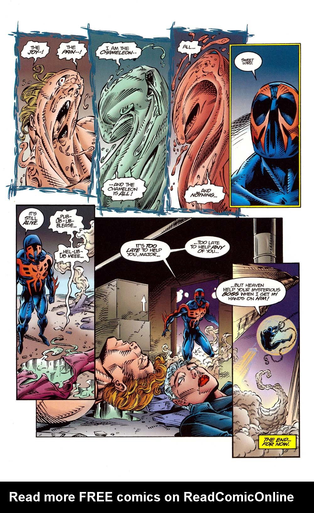 Read online 2099 Unlimited comic -  Issue #10 - 22