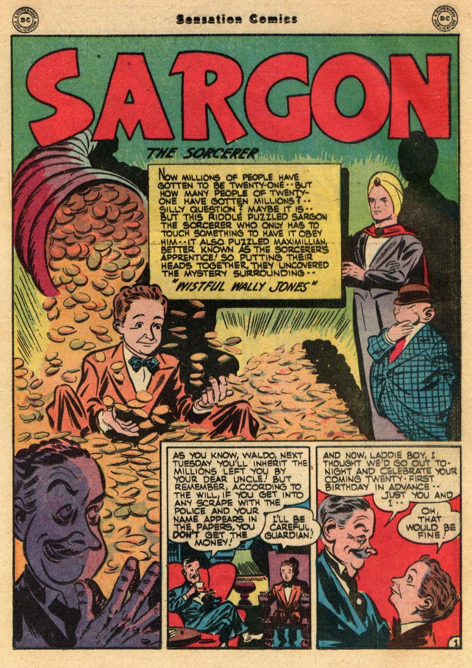 Read online Sensation (Mystery) Comics comic -  Issue #61 - 25