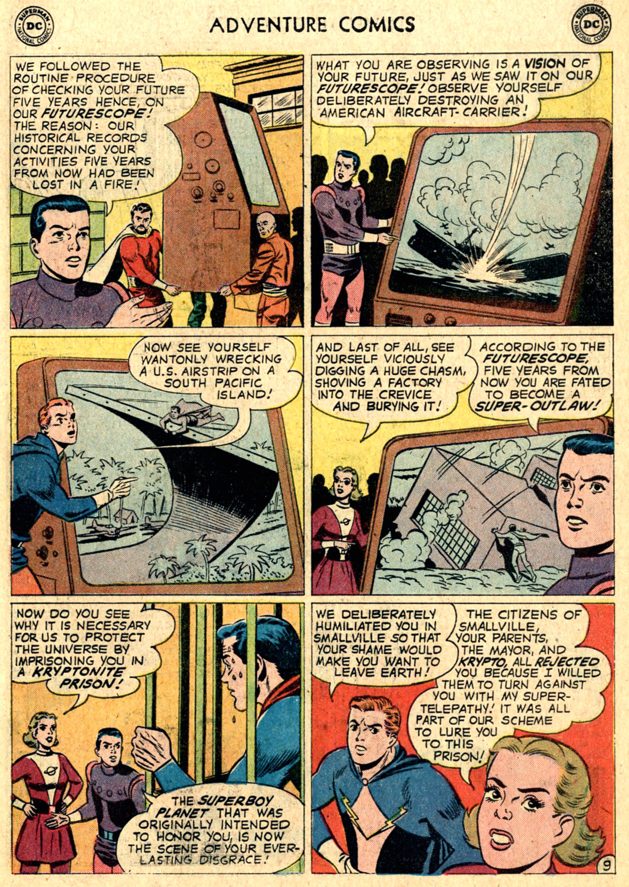 Read online Adventure Comics (1938) comic -  Issue #267 - 11