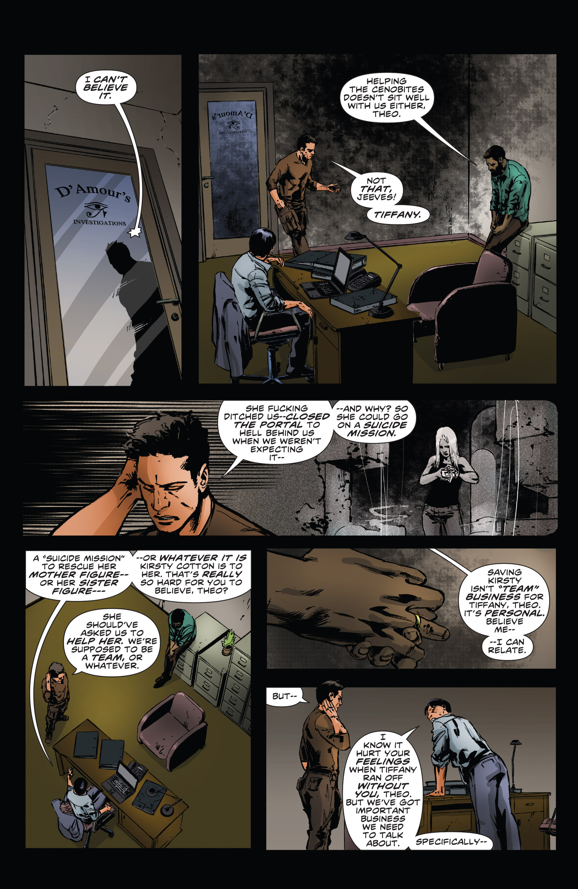 Read online Clive Barker's Hellraiser: The Dark Watch comic -  Issue # TPB 3 - 38