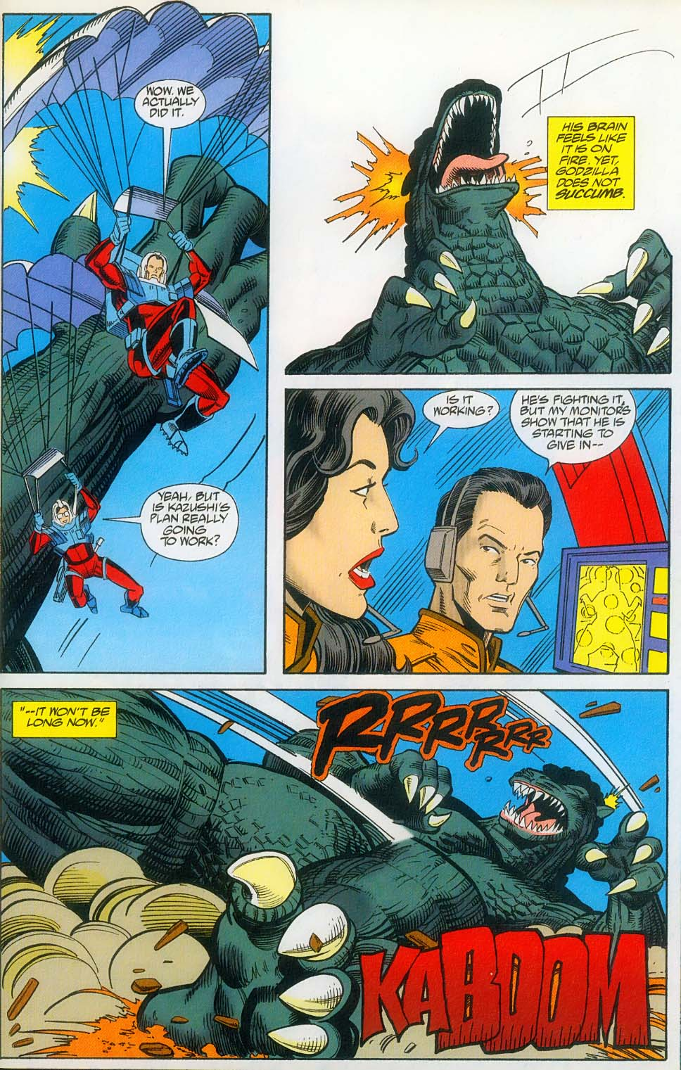 Godzilla (1995) Issue #14 #15 - English 26