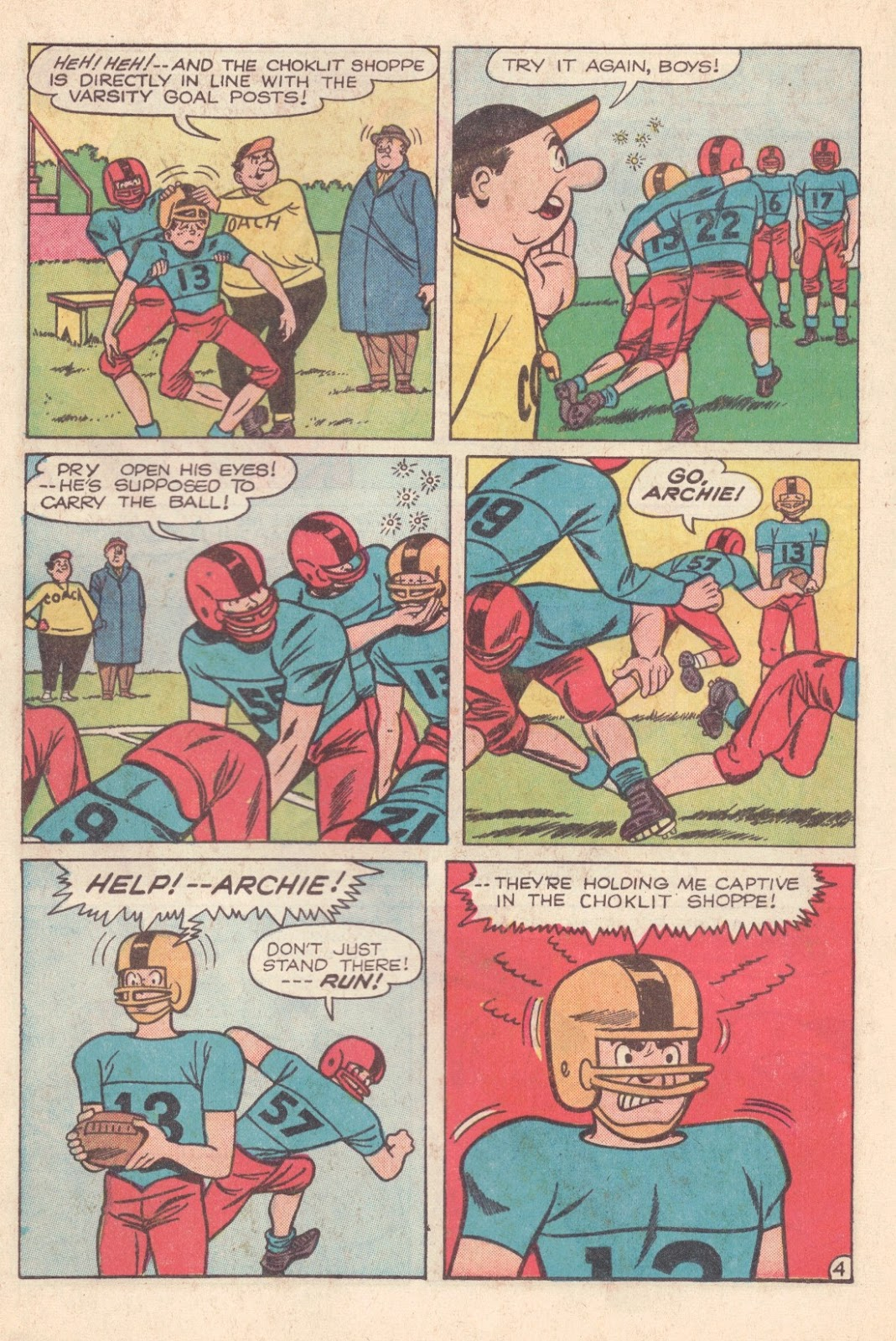 Read online Archie (1960) comic -  Issue #163 - 16