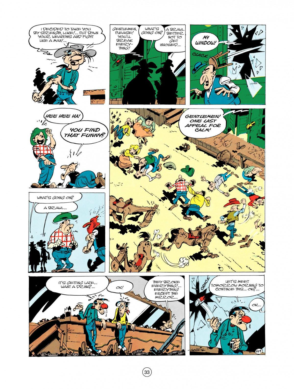 Read online A Lucky Luke Adventure comic -  Issue #28 - 34