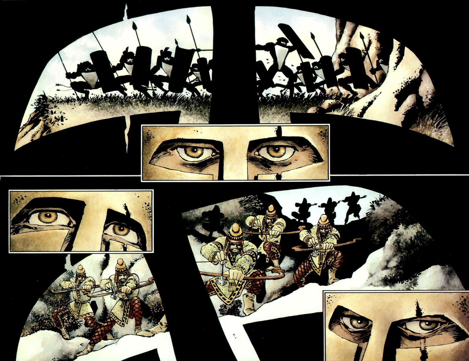 Read online 300 (2007) comic -  Issue # TPB - 74
