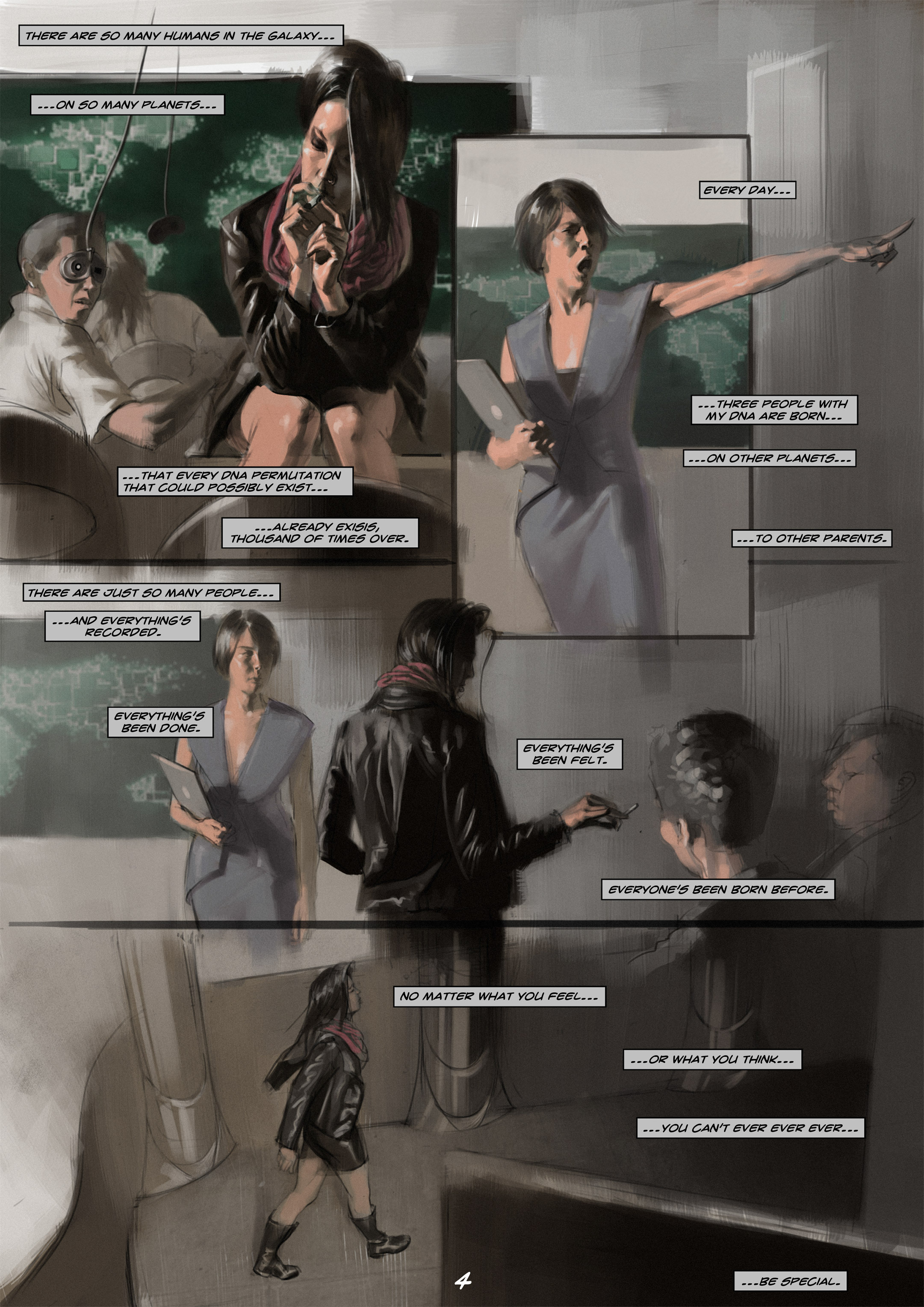 Read online Wynter comic -  Issue #1 - 5