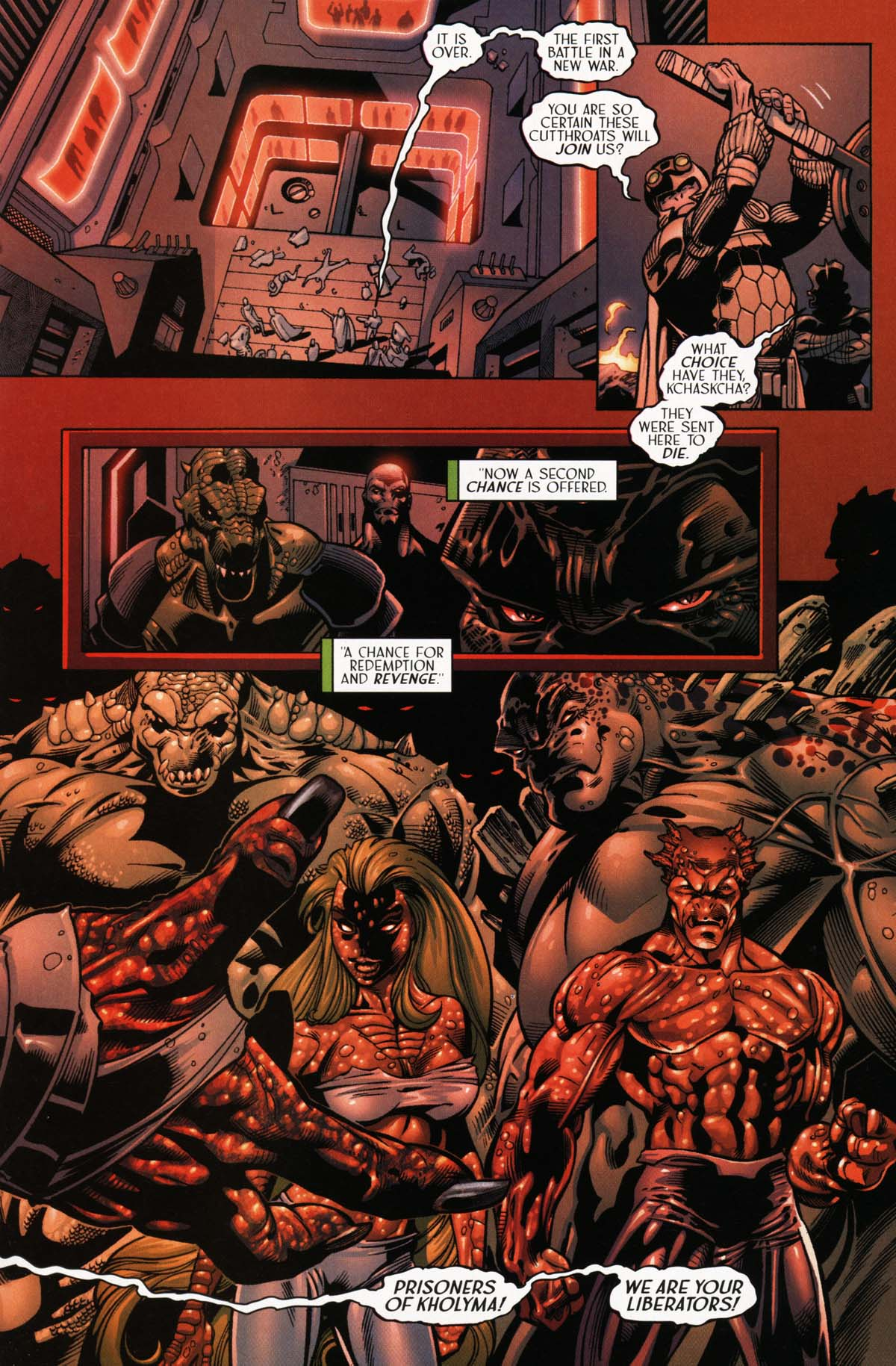 Read online Sigil (2000) comic -  Issue #25 - 25