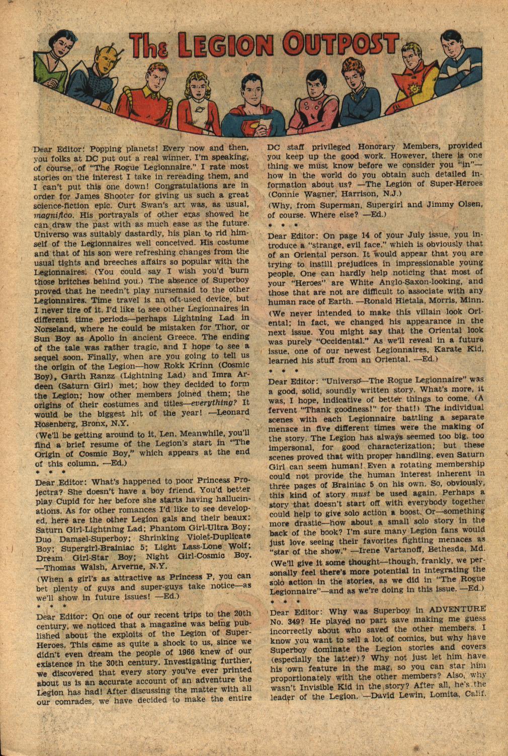 Read online Adventure Comics (1938) comic -  Issue #352 - 32