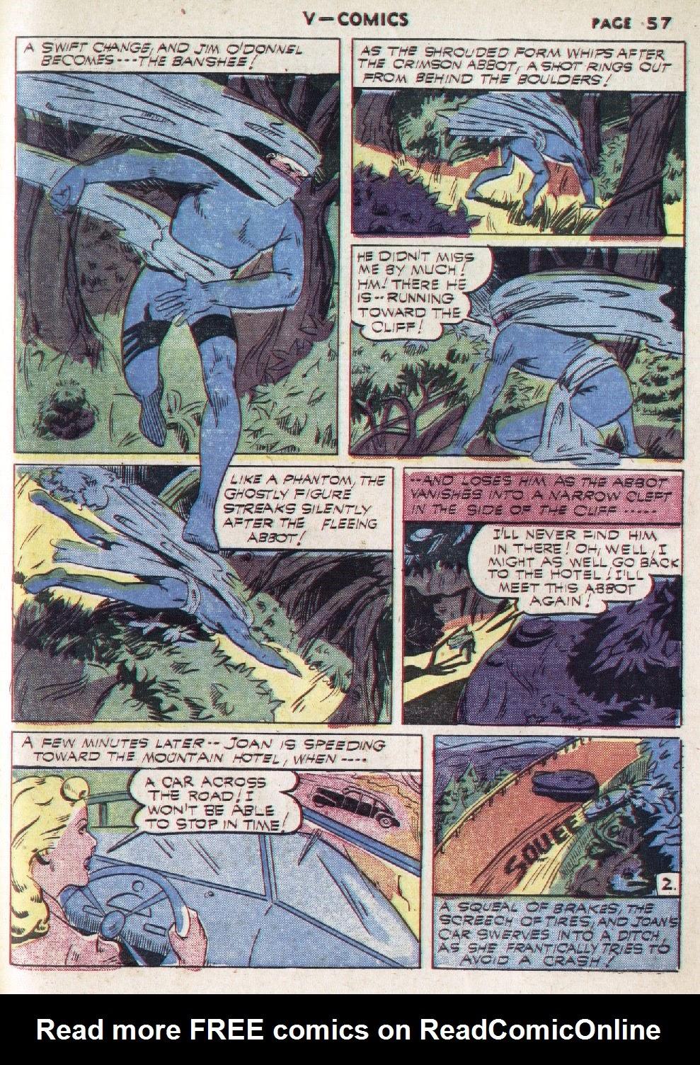 Read online V...- Comics comic -  Issue #1 - 58