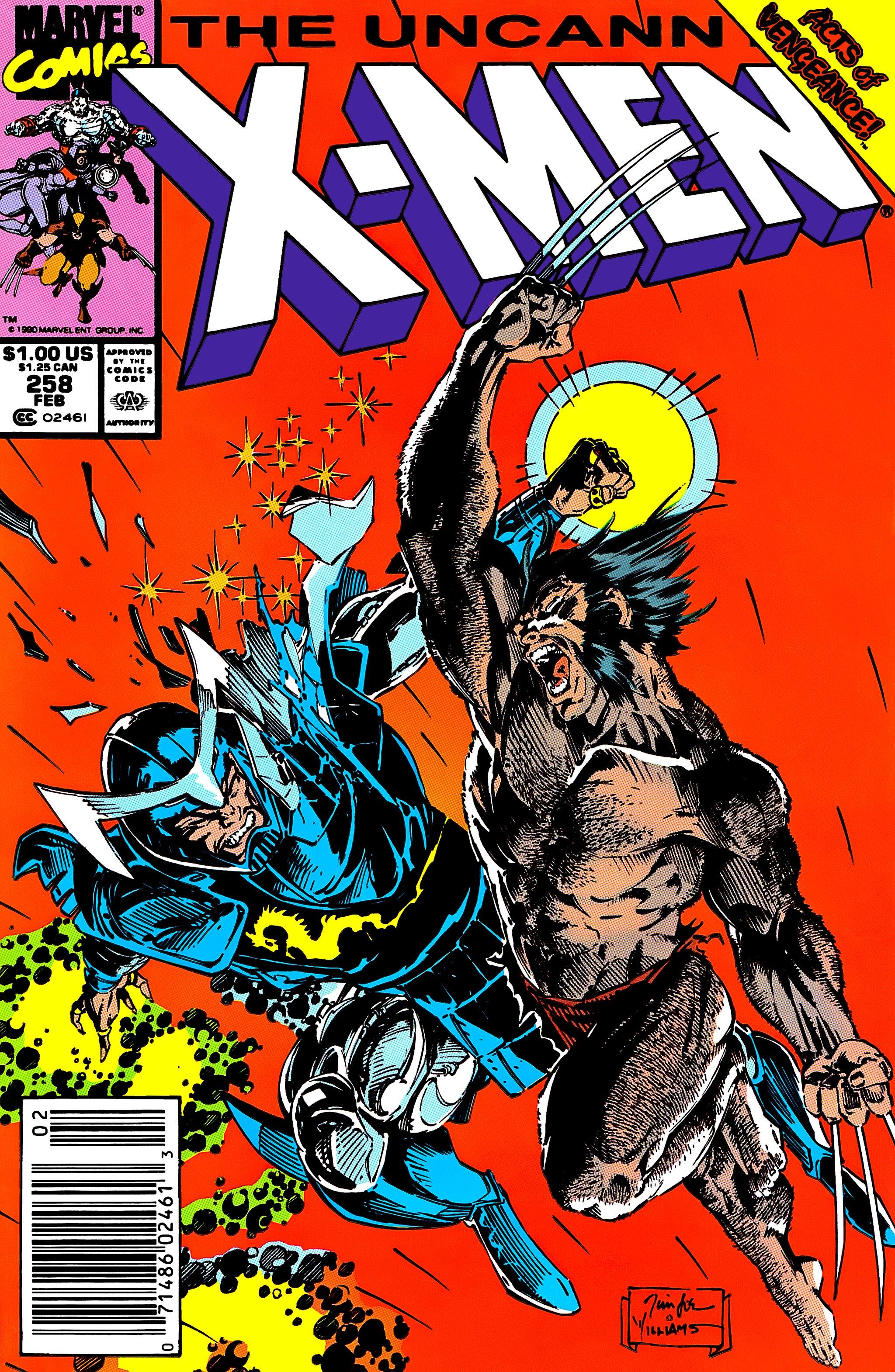 Read online Uncanny X-Men (1963) comic -  Issue #258 - 1