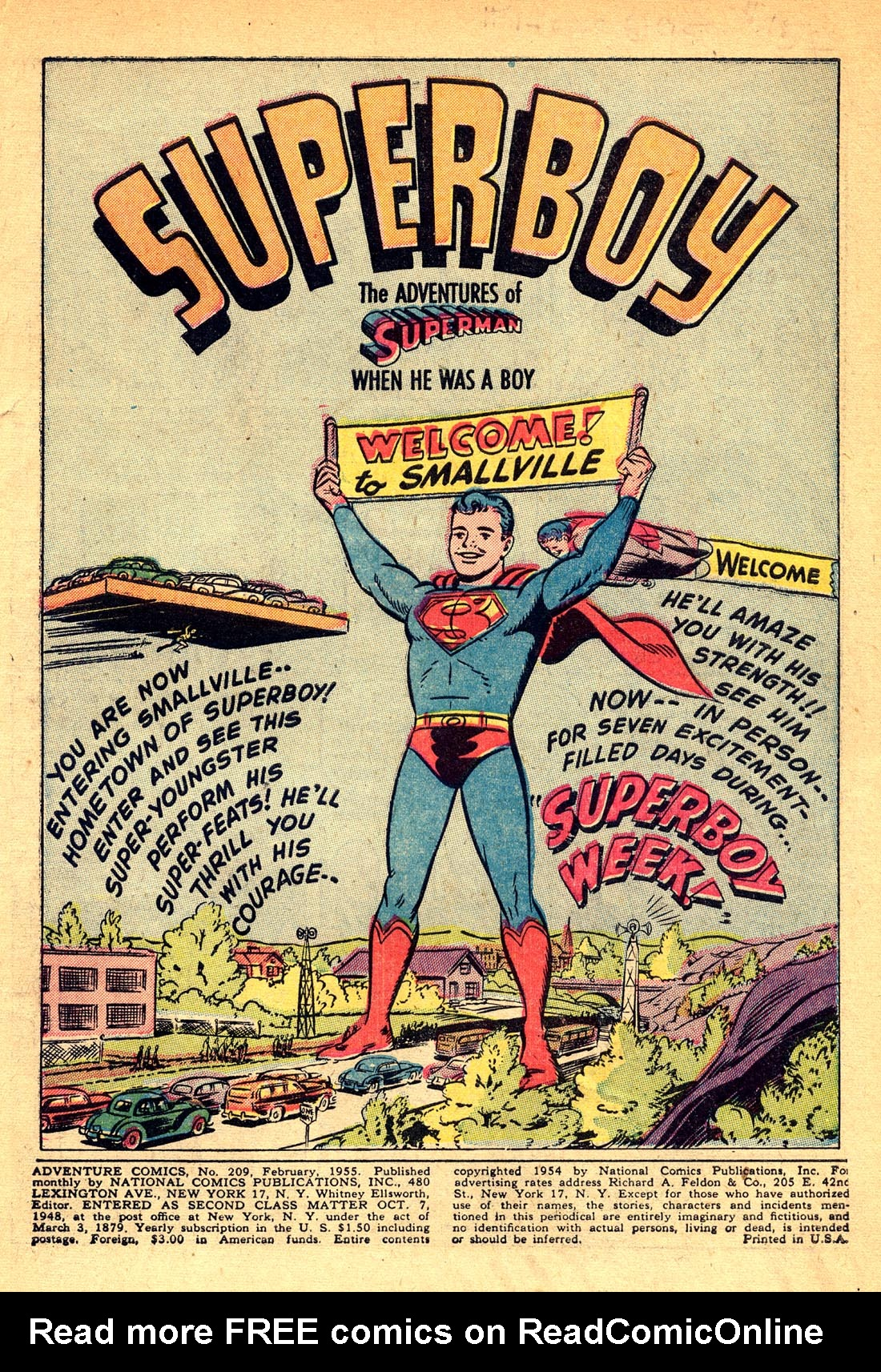 Read online Adventure Comics (1938) comic -  Issue #209 - 3