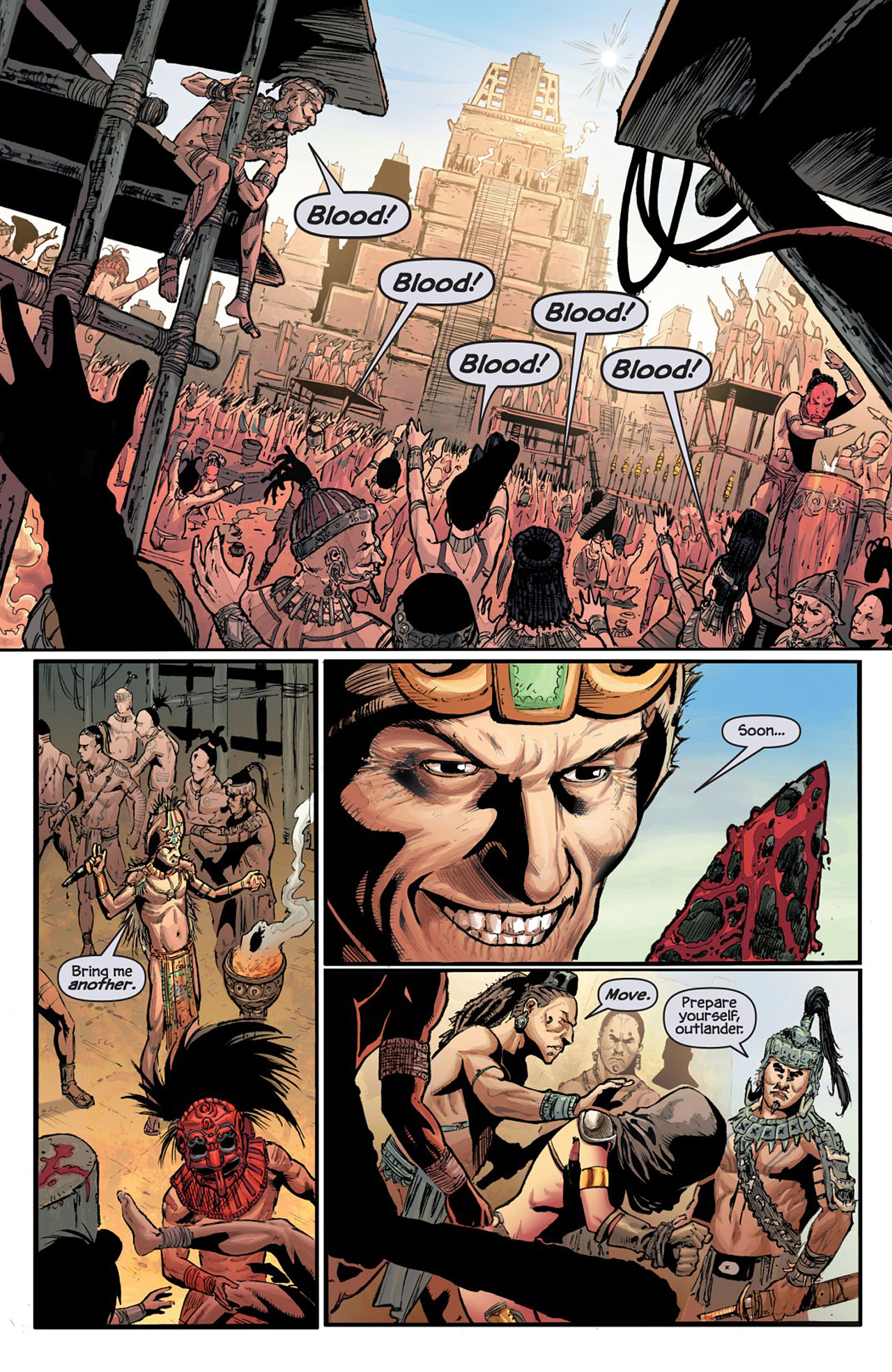 Read online Prophecy comic -  Issue #1 - 8