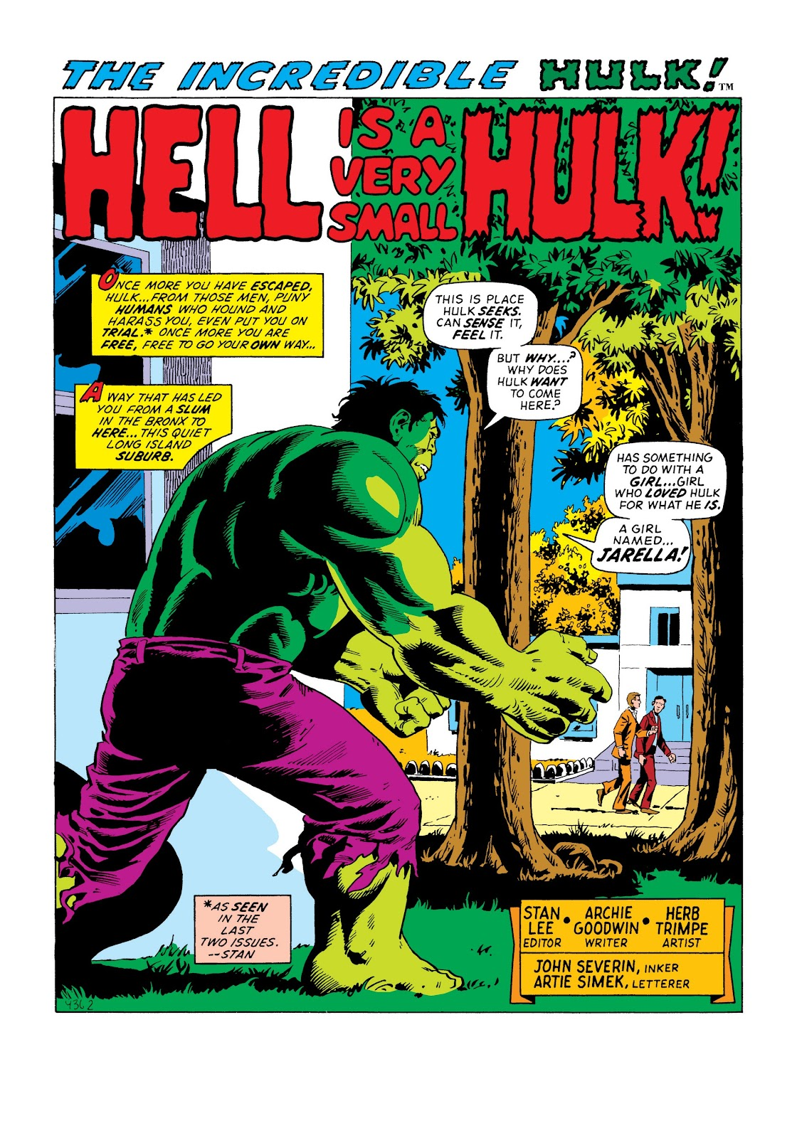 Read online Marvel Masterworks: The Incredible Hulk comic -  Issue # TPB 8 (Part 3) - 19