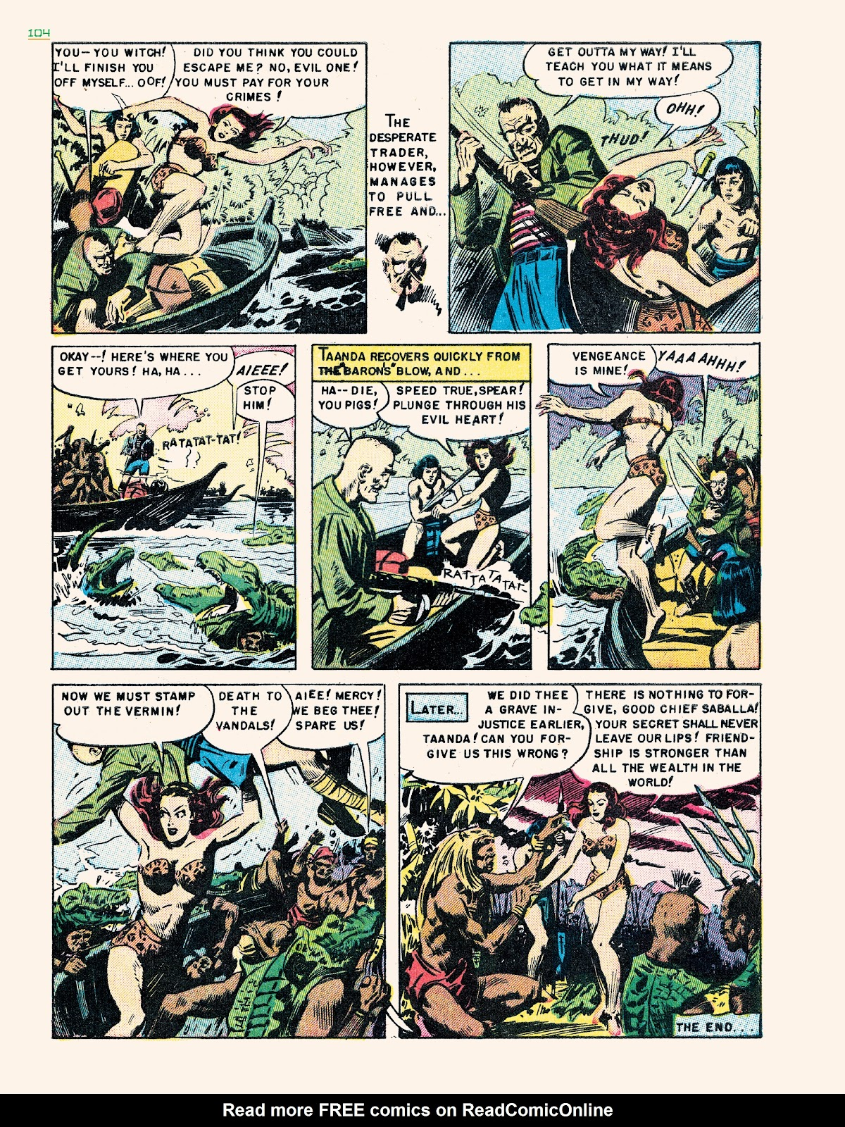Read online Jungle Girls comic -  Issue # TPB (Part 2) - 4
