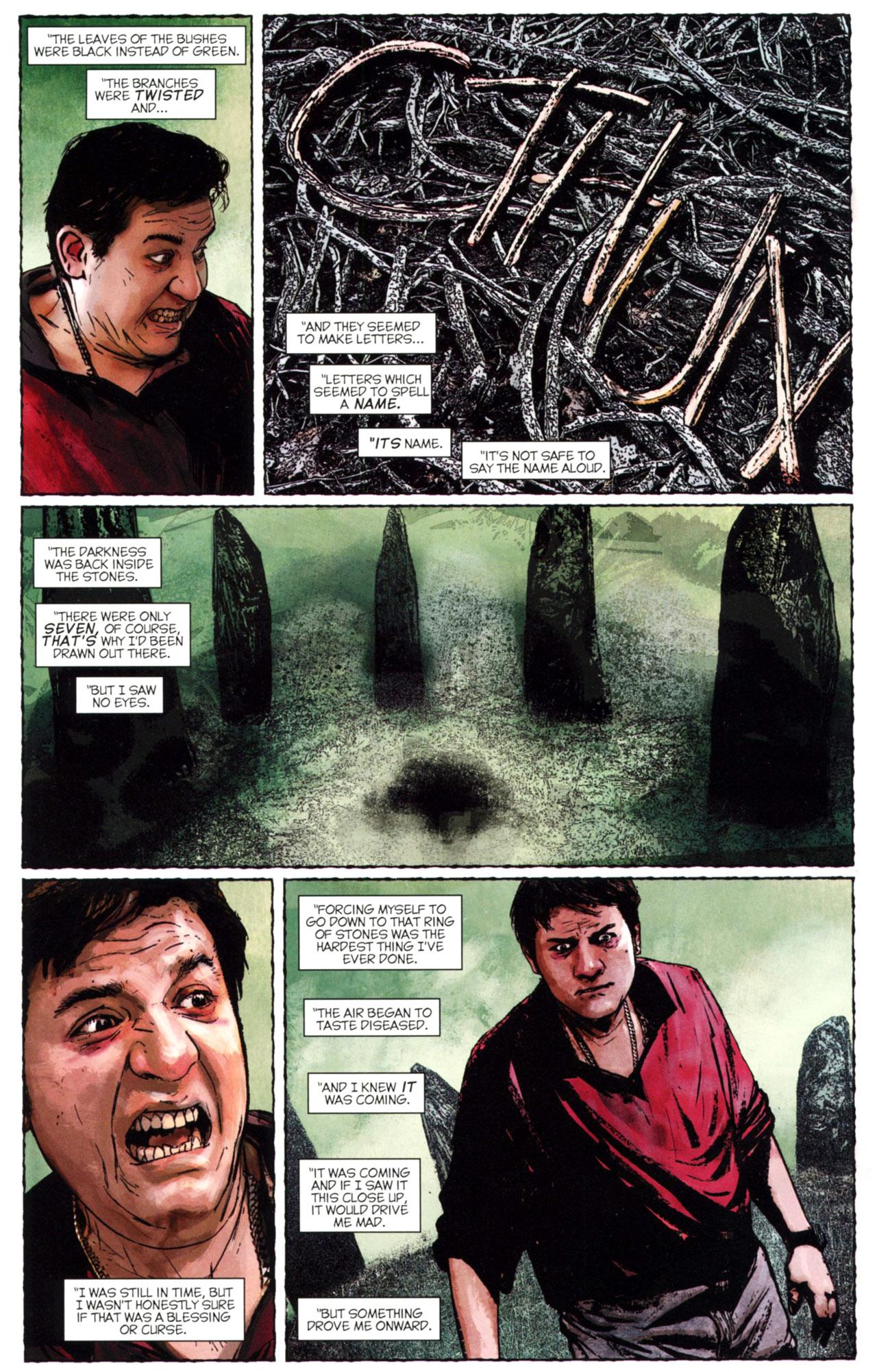 Read online Stephen King's N. comic -  Issue #2 - 18
