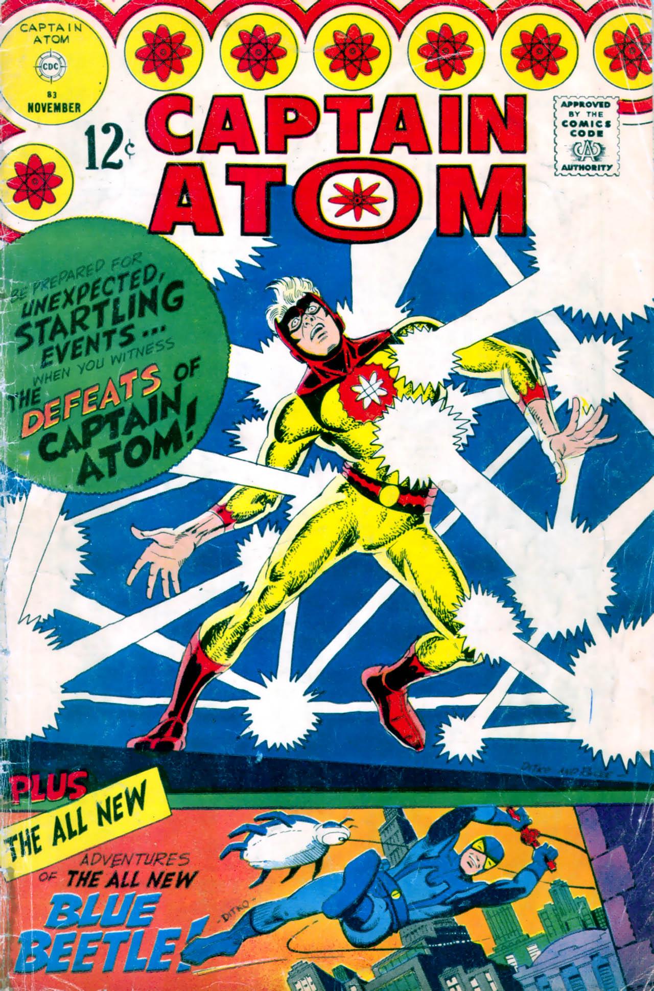 Captain Atom (1965) 83 Page 1