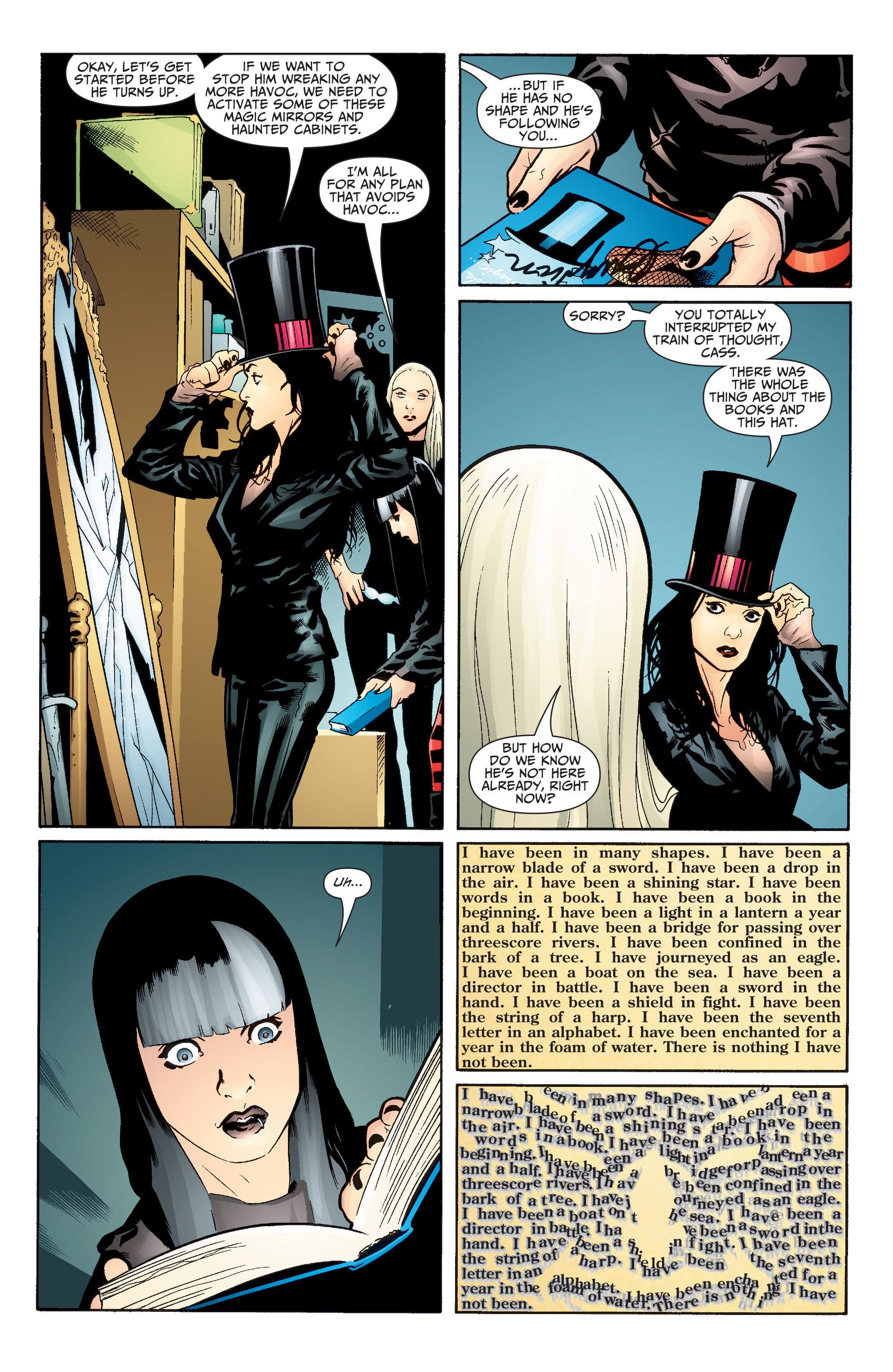 Read online Seven Soldiers: Zatanna comic -  Issue #2 - 13