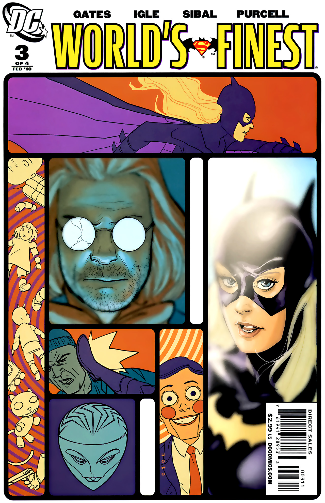 Read online World's Finest (2009) comic -  Issue #3 - 1