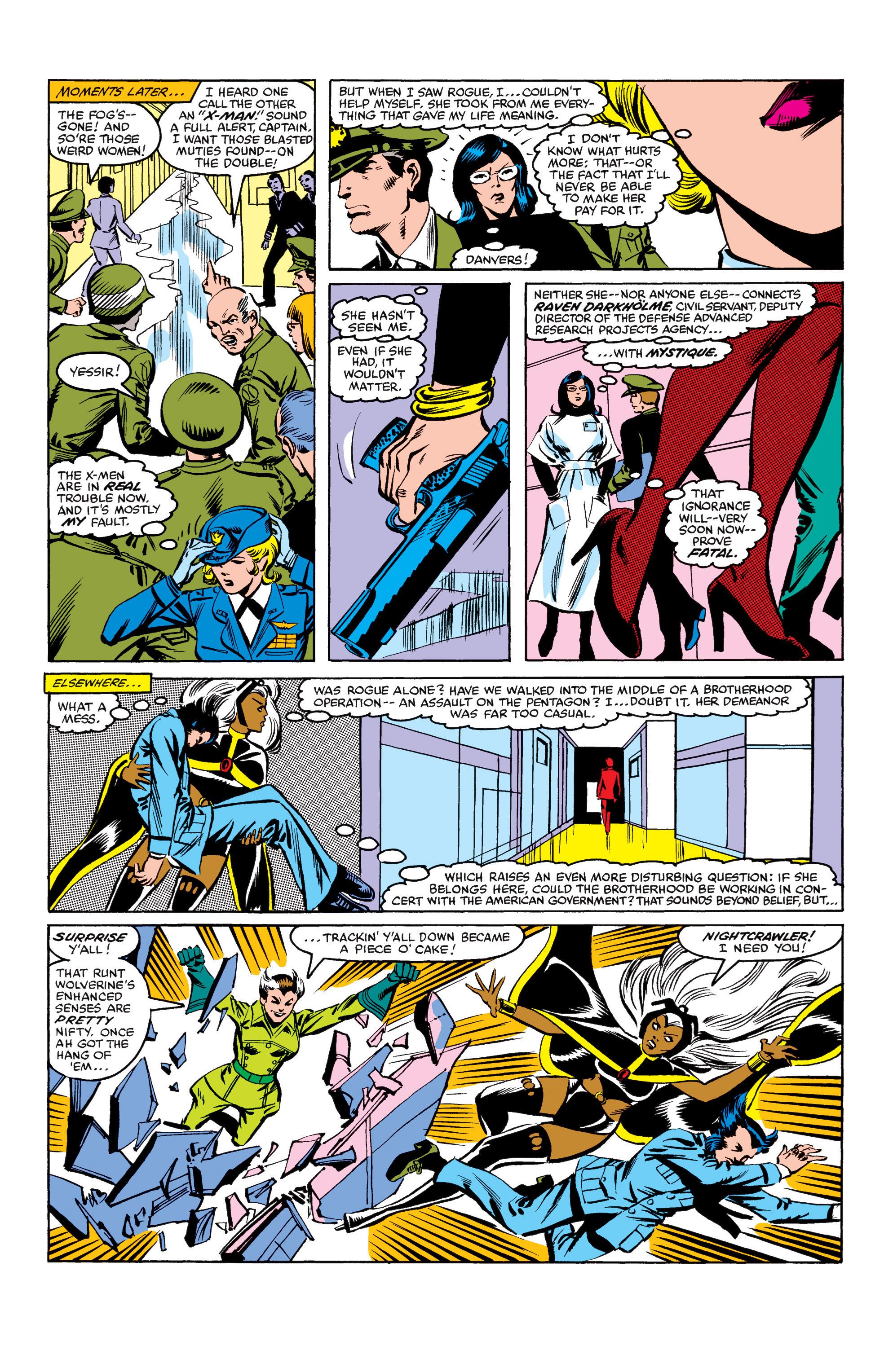 Read online Uncanny X-Men (1963) comic -  Issue #158 - 16