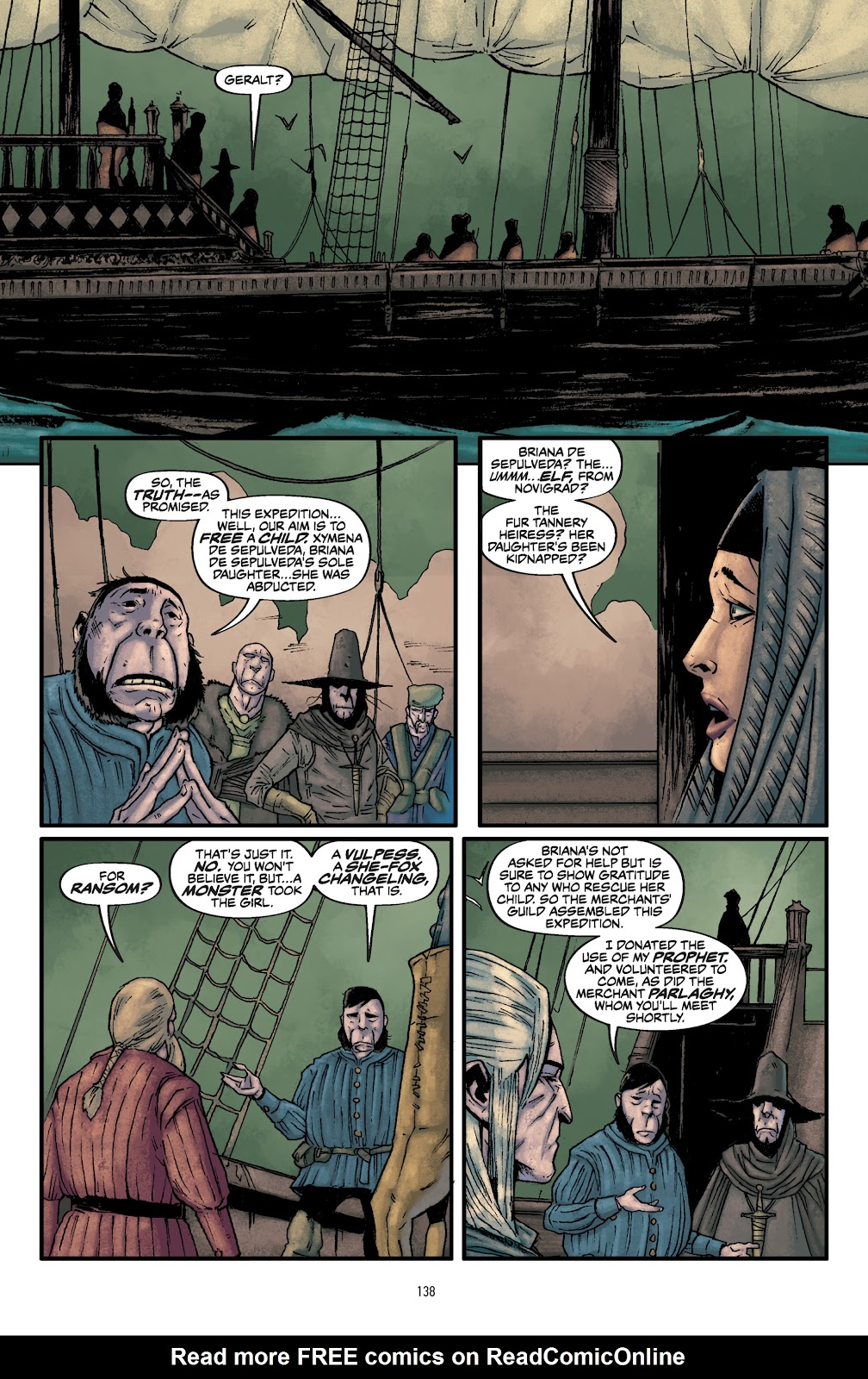 Read online The Witcher Omnibus comic -  Issue # TPB (Part 2) - 40