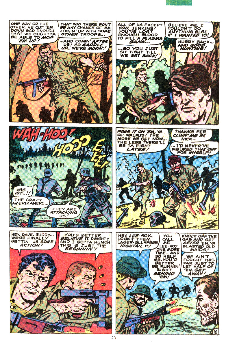 Read online Sgt. Fury comic -  Issue #164 - 25