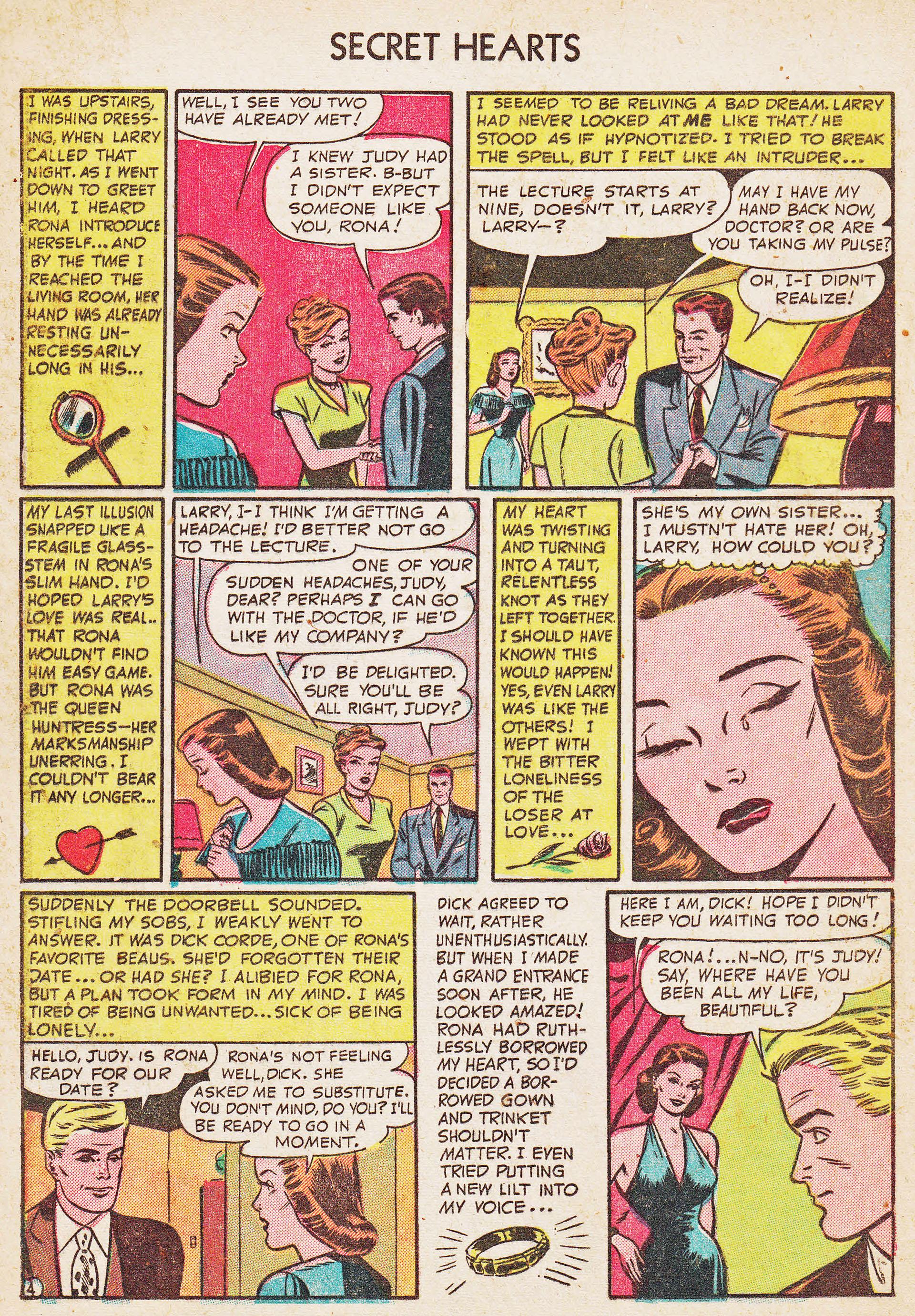 Read online Secret Hearts comic -  Issue #7 - 20