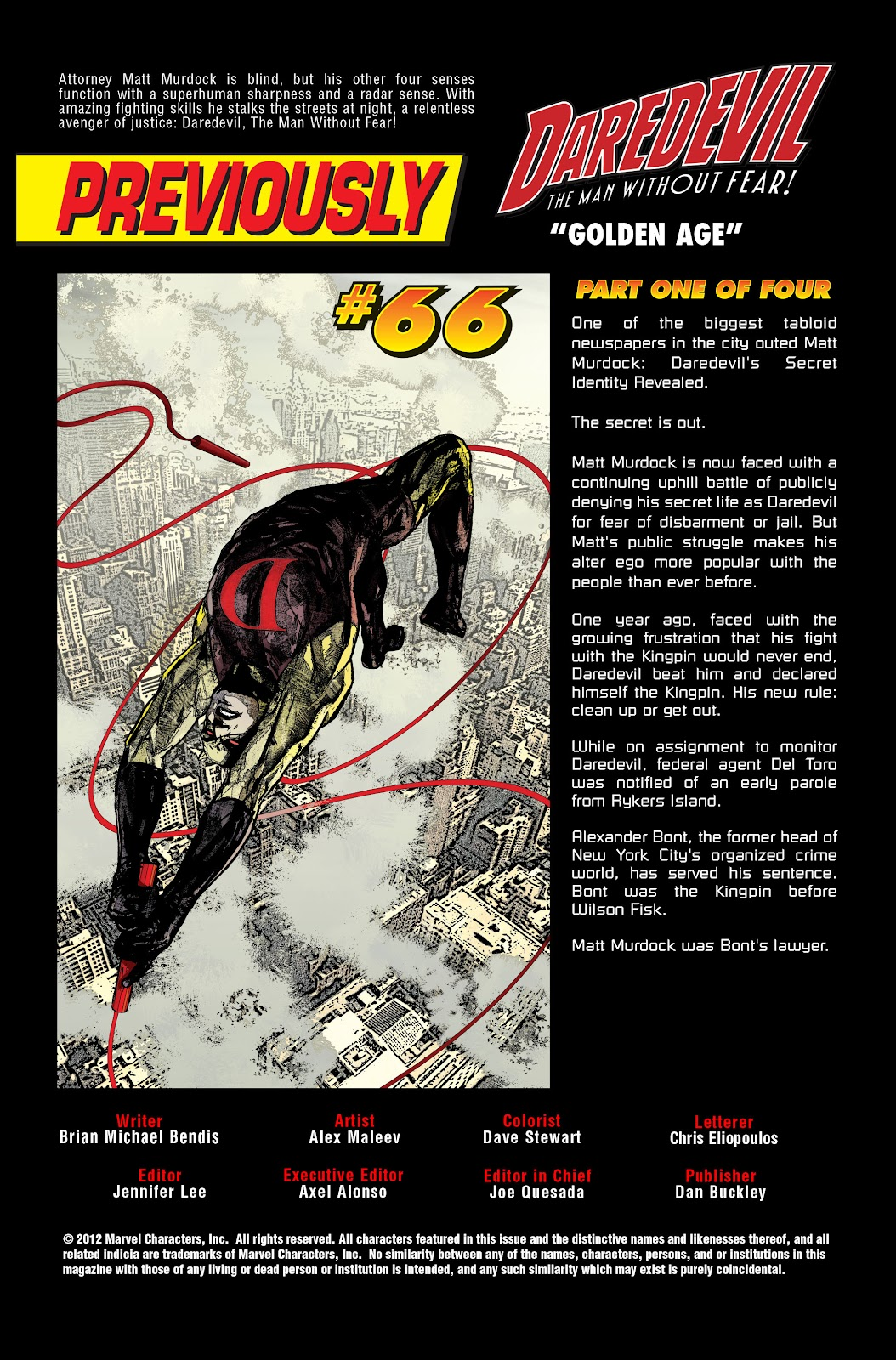 Read online Daredevil (1998) comic -  Issue # _Ultimate_Collection TPB 3 (Part 1) - 4