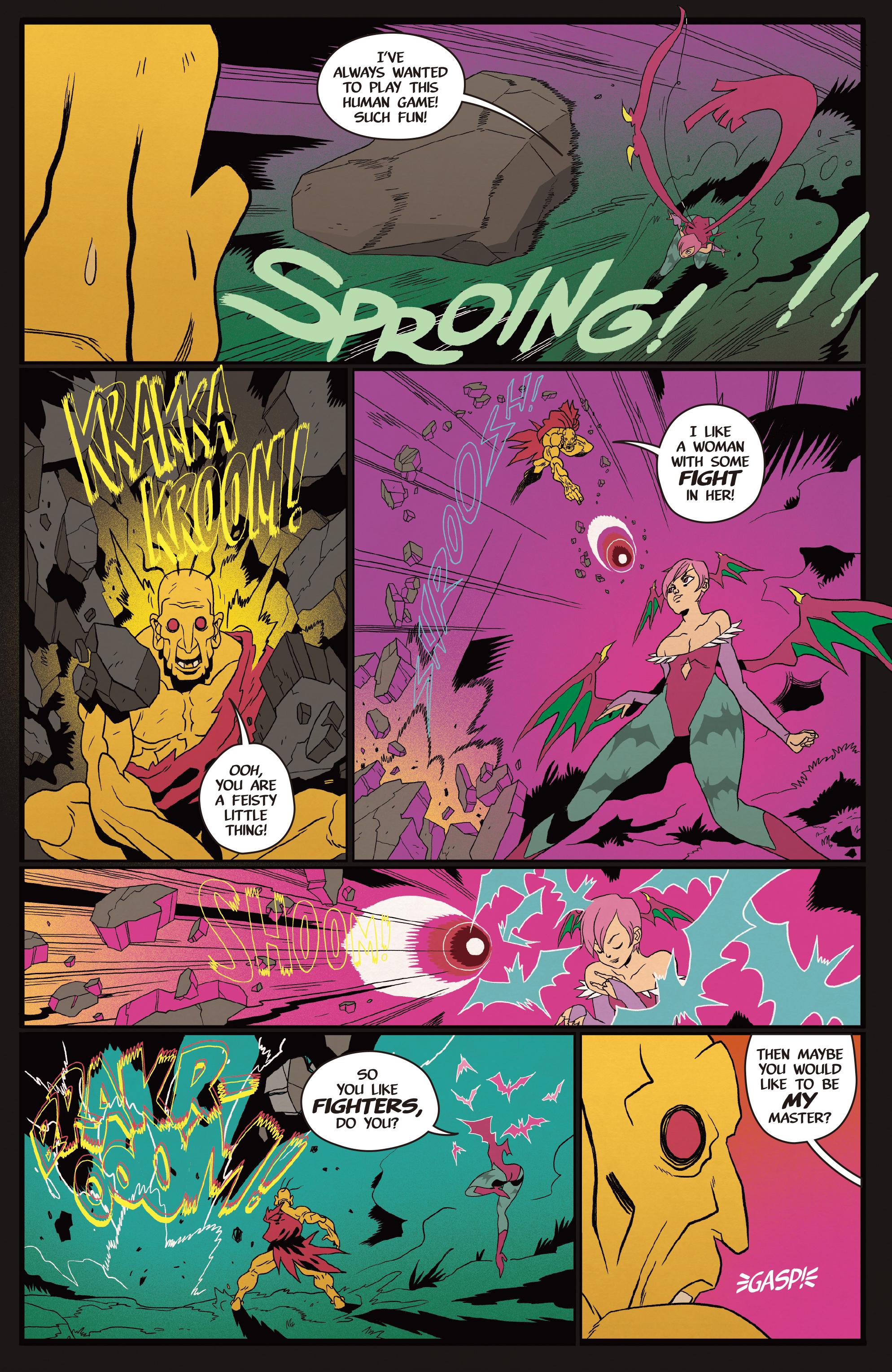 Read online Street Fighter VS Darkstalkers comic -  Issue #2 - 22