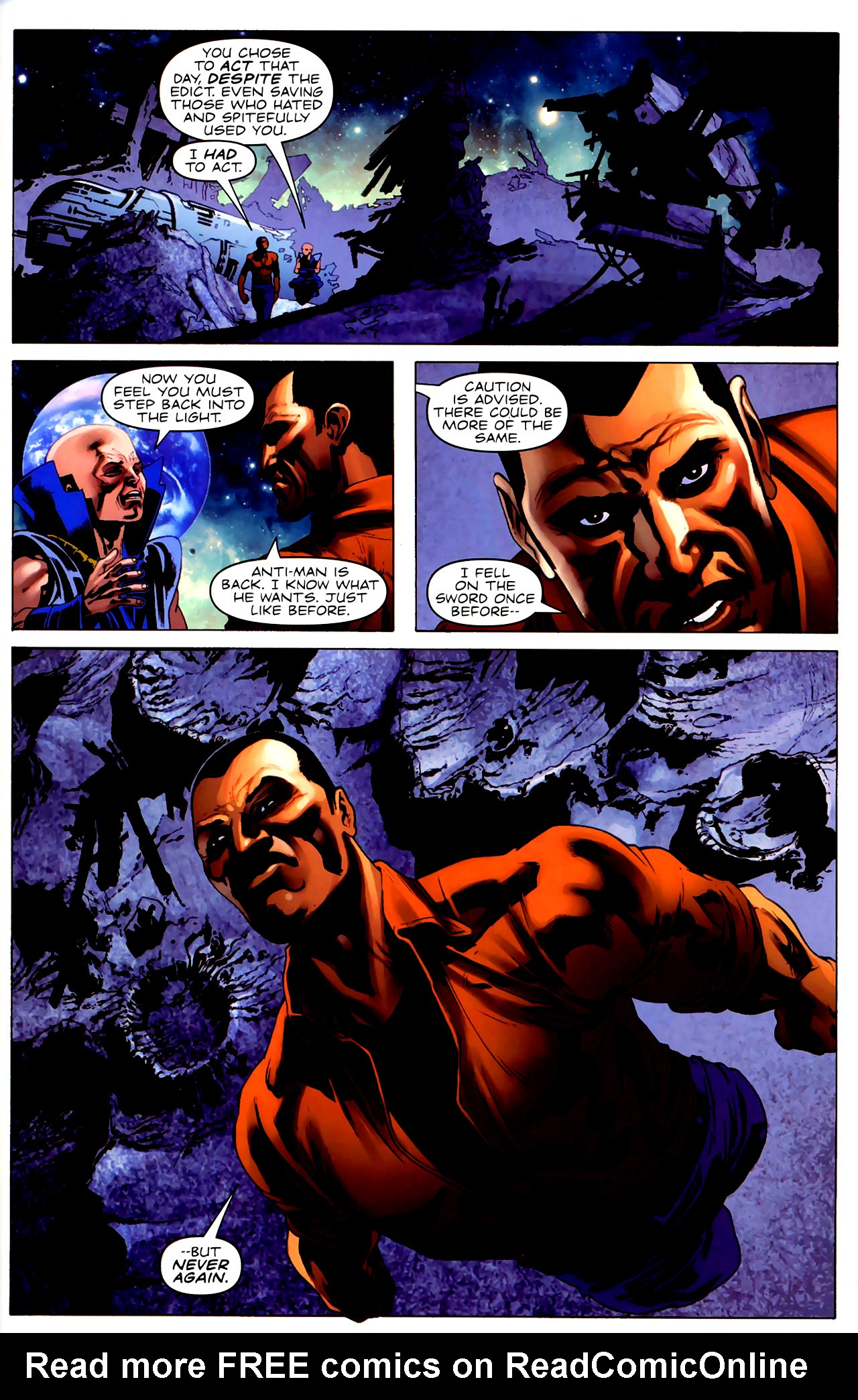 Read online Adam: Legend of the Blue Marvel comic -  Issue #3 - 20
