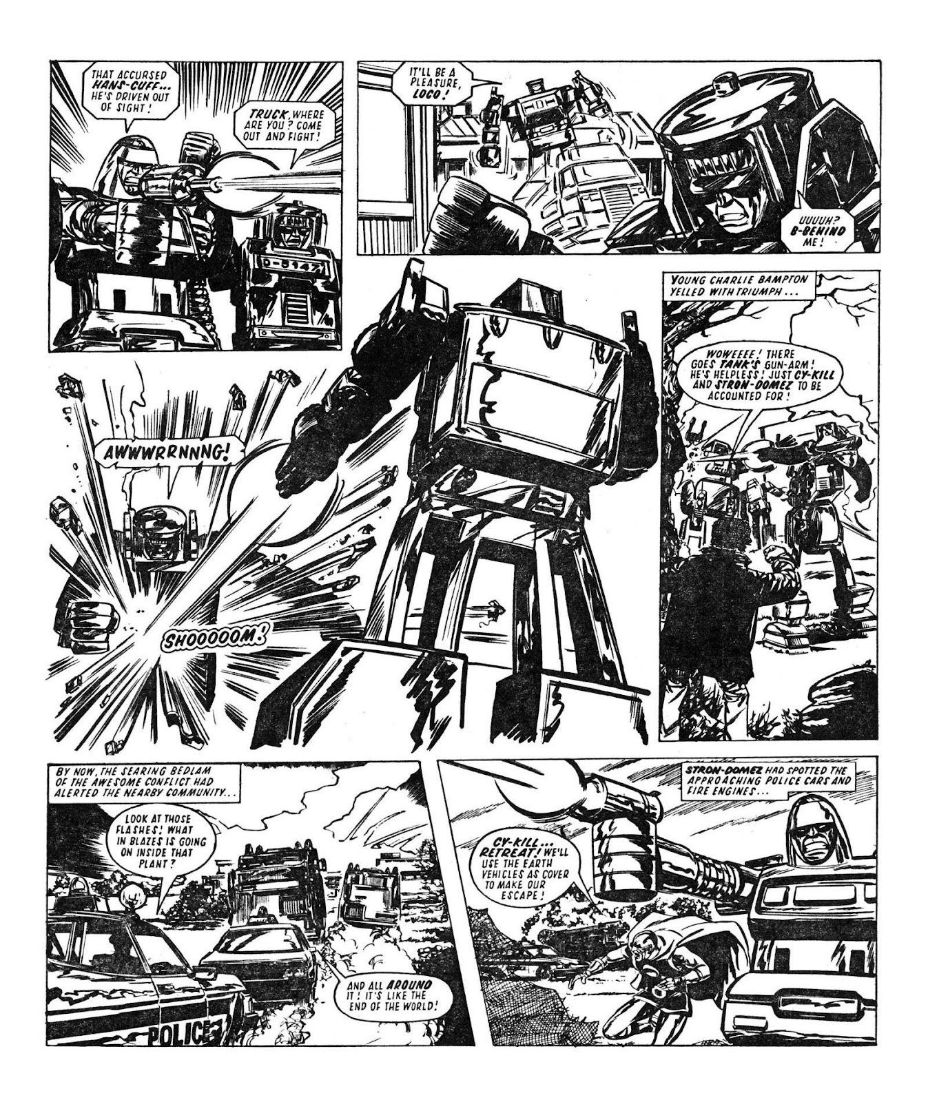 Read online Robo Machines comic -  Issue # TPB - 64