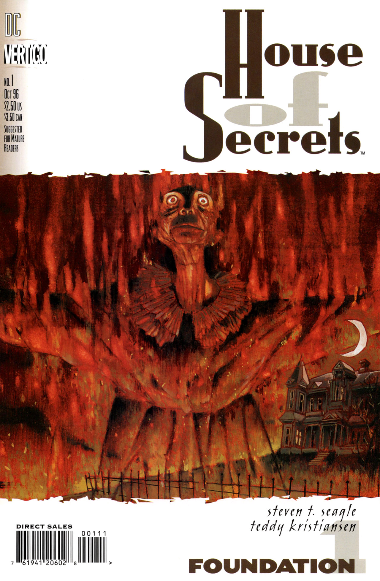 House of Secrets (1996) issue 1 - Page 1