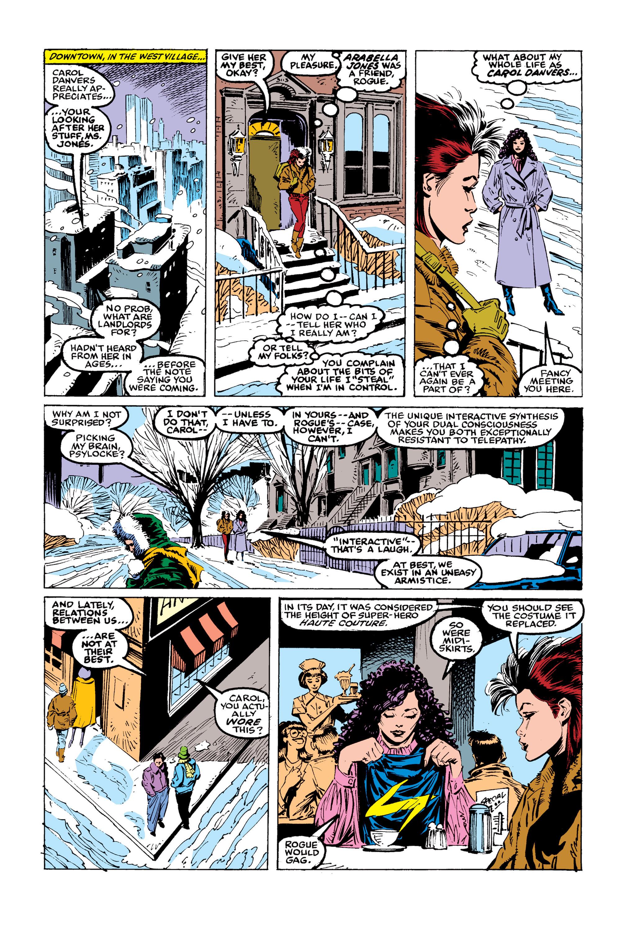 Read online Uncanny X-Men (1963) comic -  Issue #246 - 16