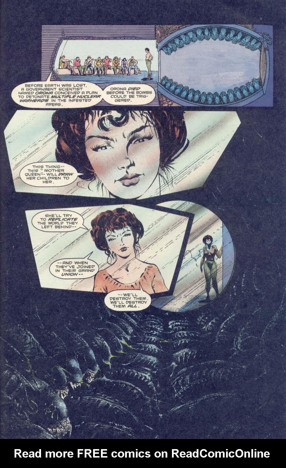 Read online Aliens: Earth War comic -  Issue #2 - 25