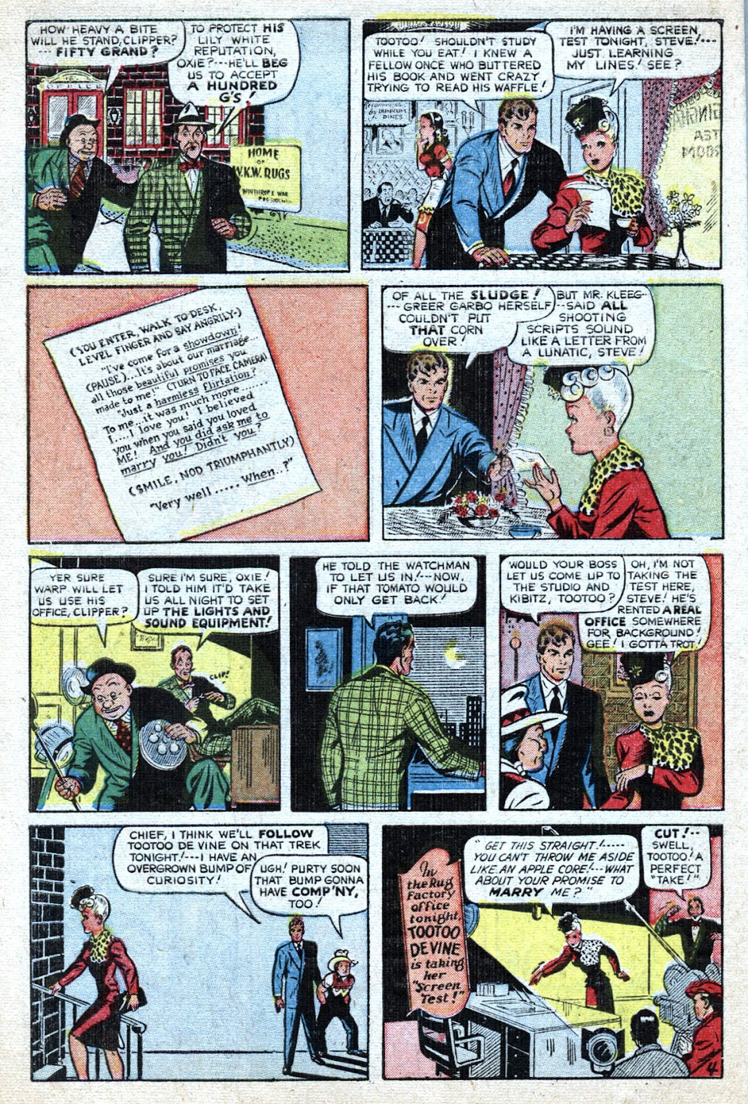 Read online Famous Funnies comic -  Issue #184 - 12