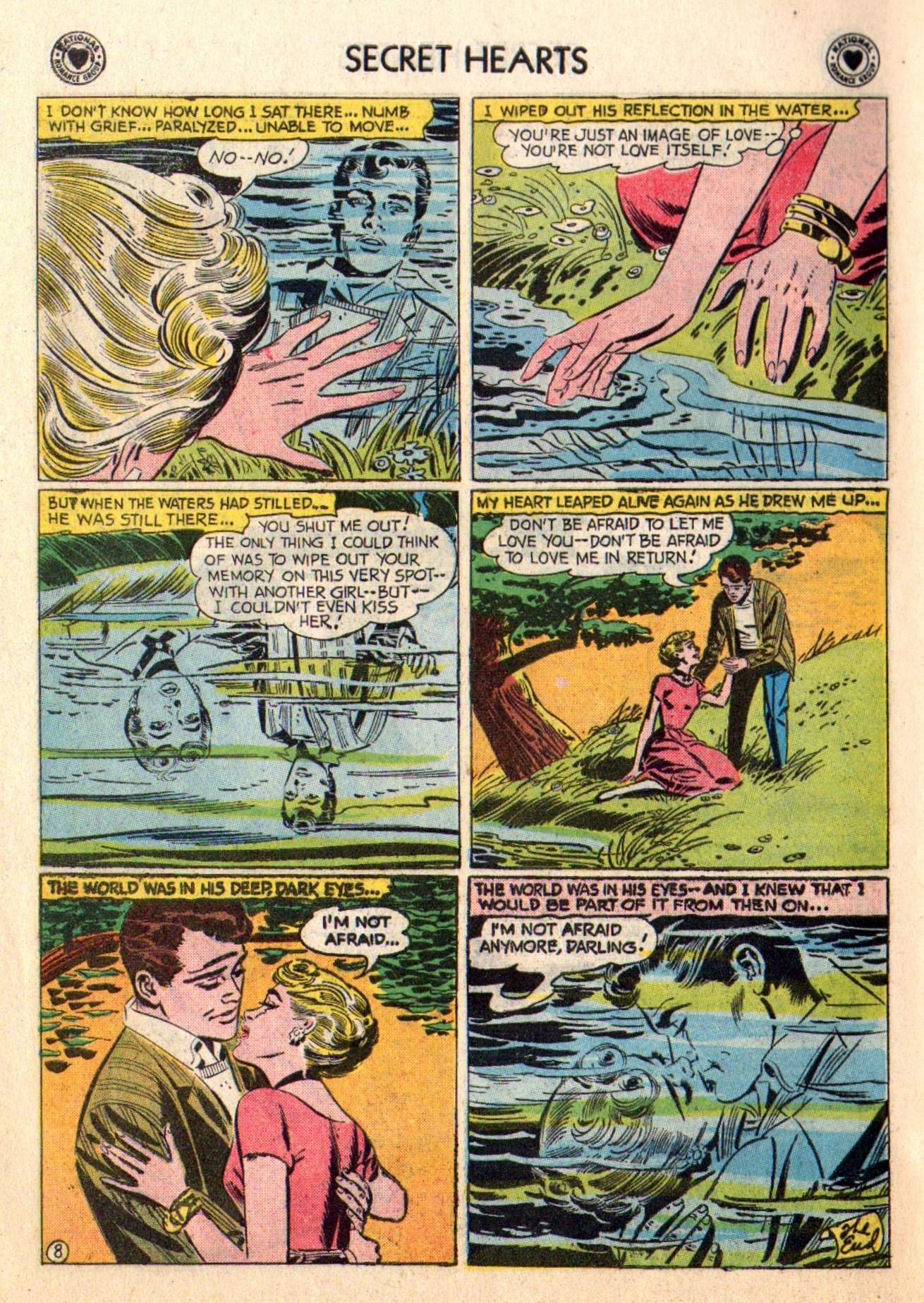 Read online Secret Hearts comic -  Issue #48 - 34